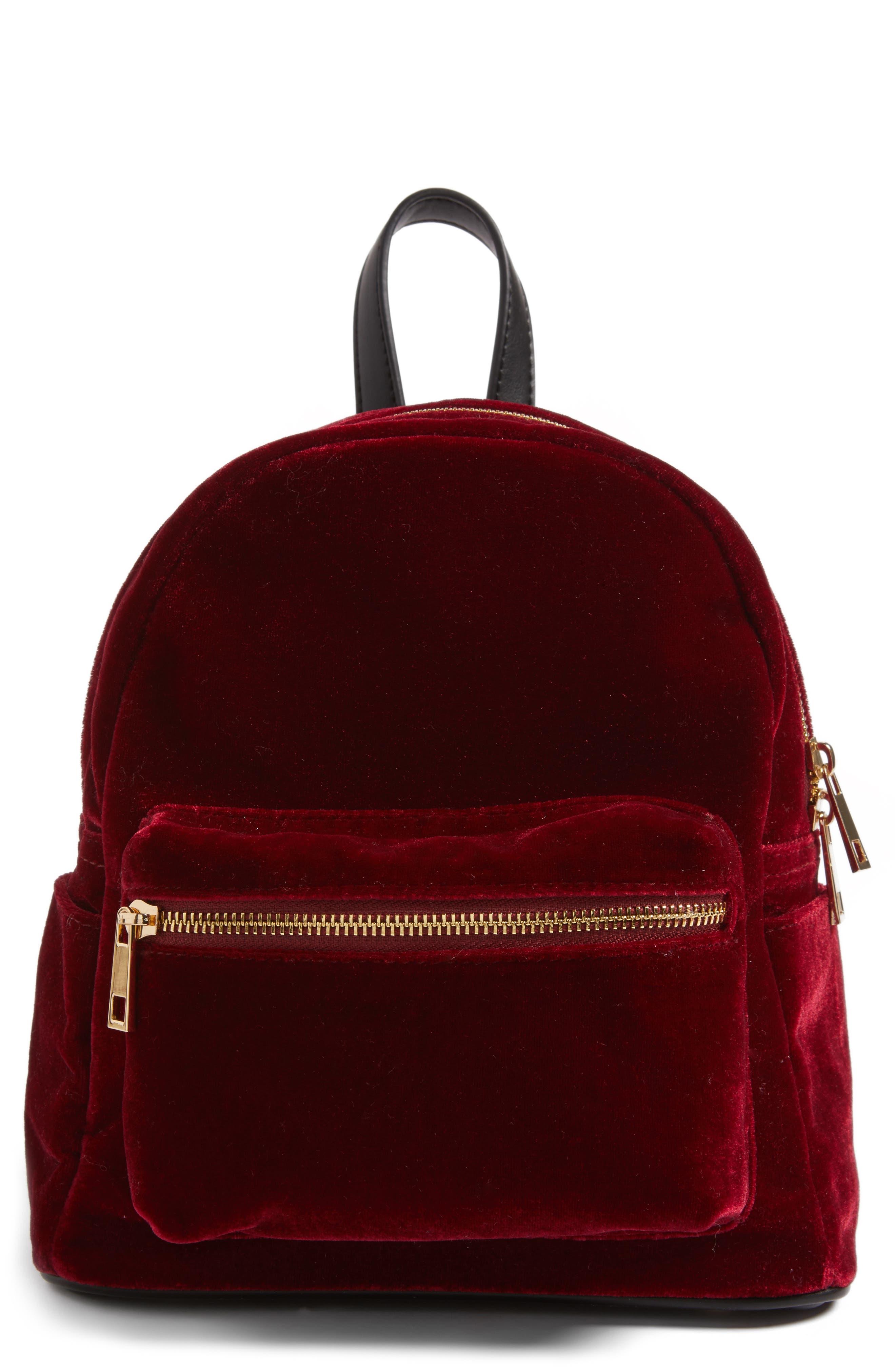 BP. Mini Velvet Backpack
