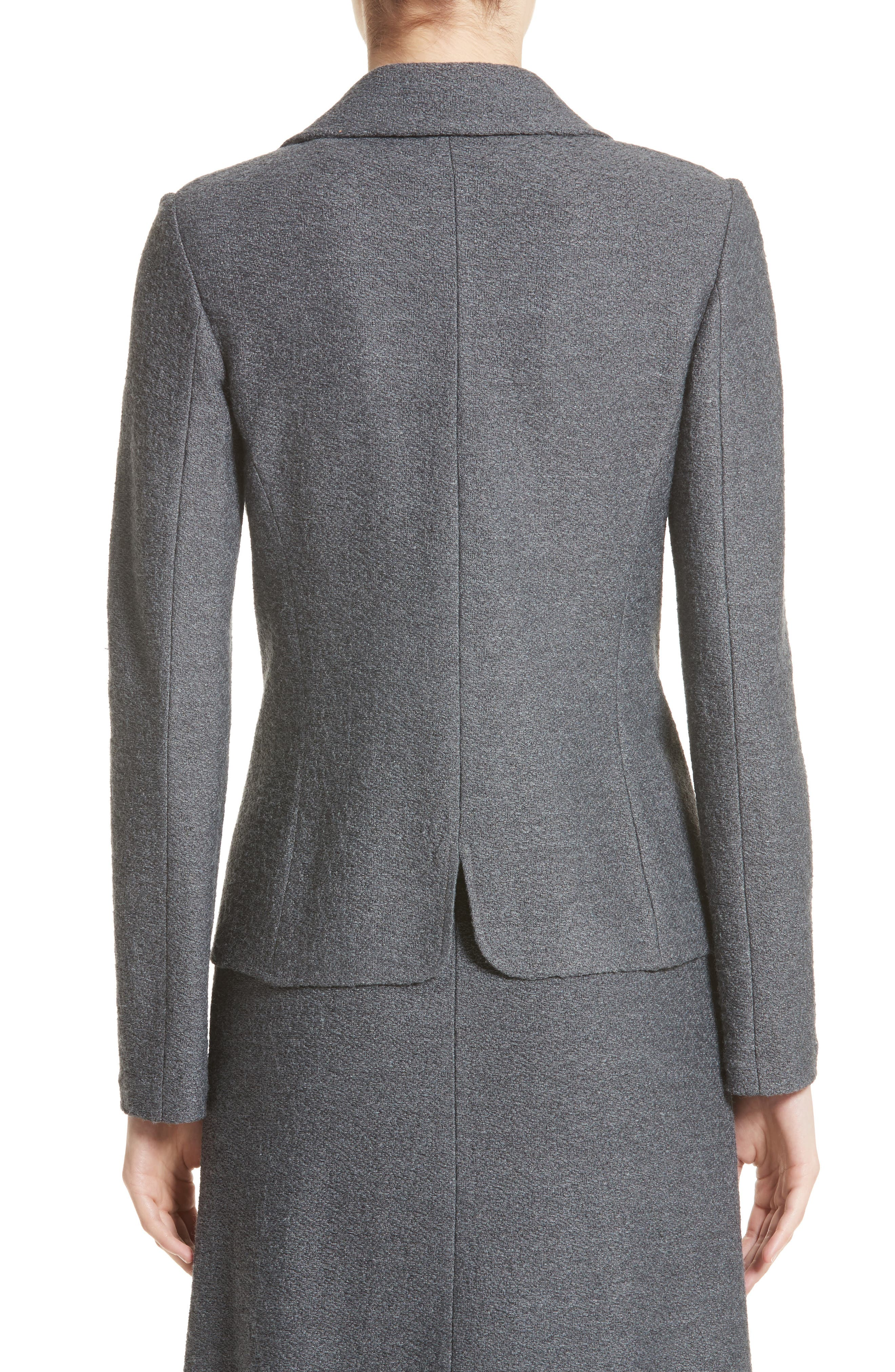 Alternate Image 2  - St. John Collection Clair Grommet Detail Knit Jacket