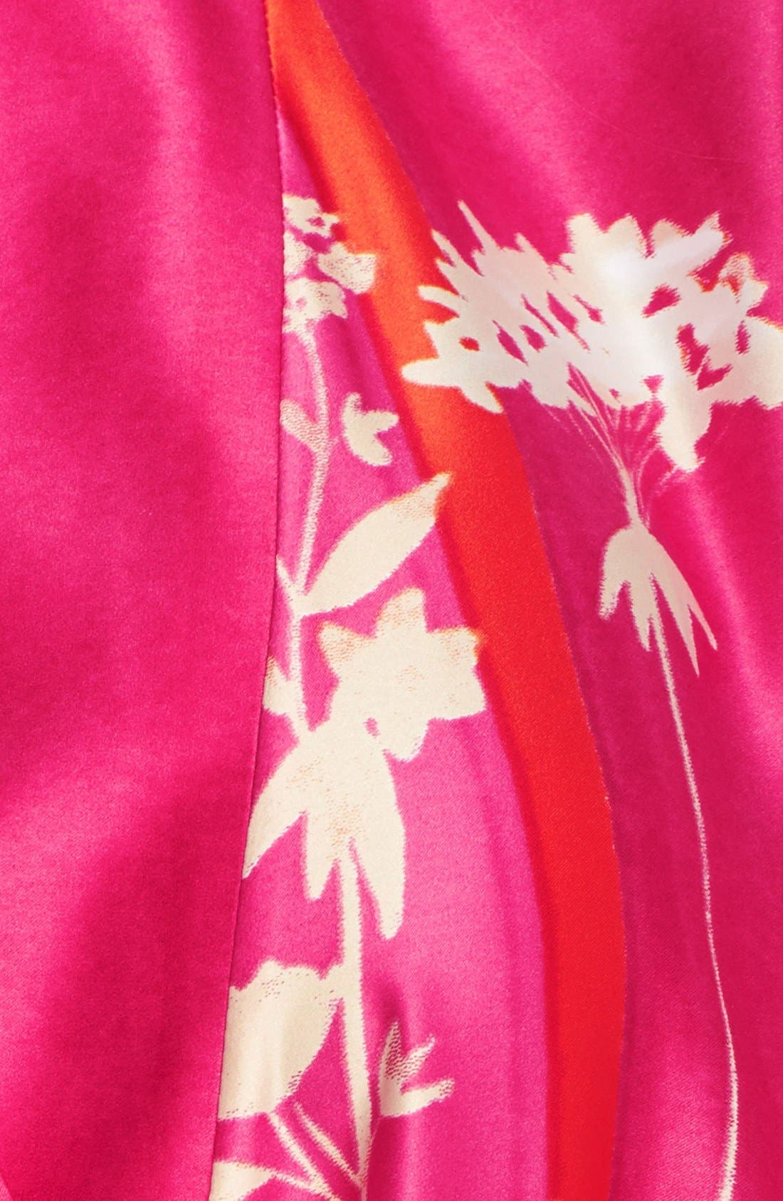 Alternate Image 3  - Natori 'Izabella' Satin Robe