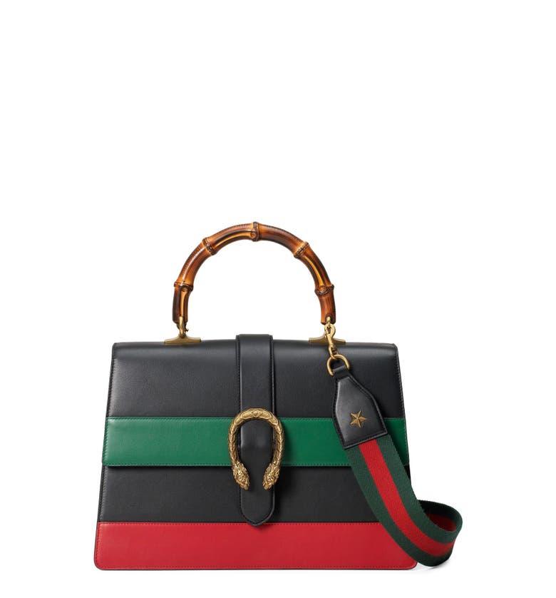 Main Image - Gucci Large Dionysus Top Handle Leather Shoulder Bag