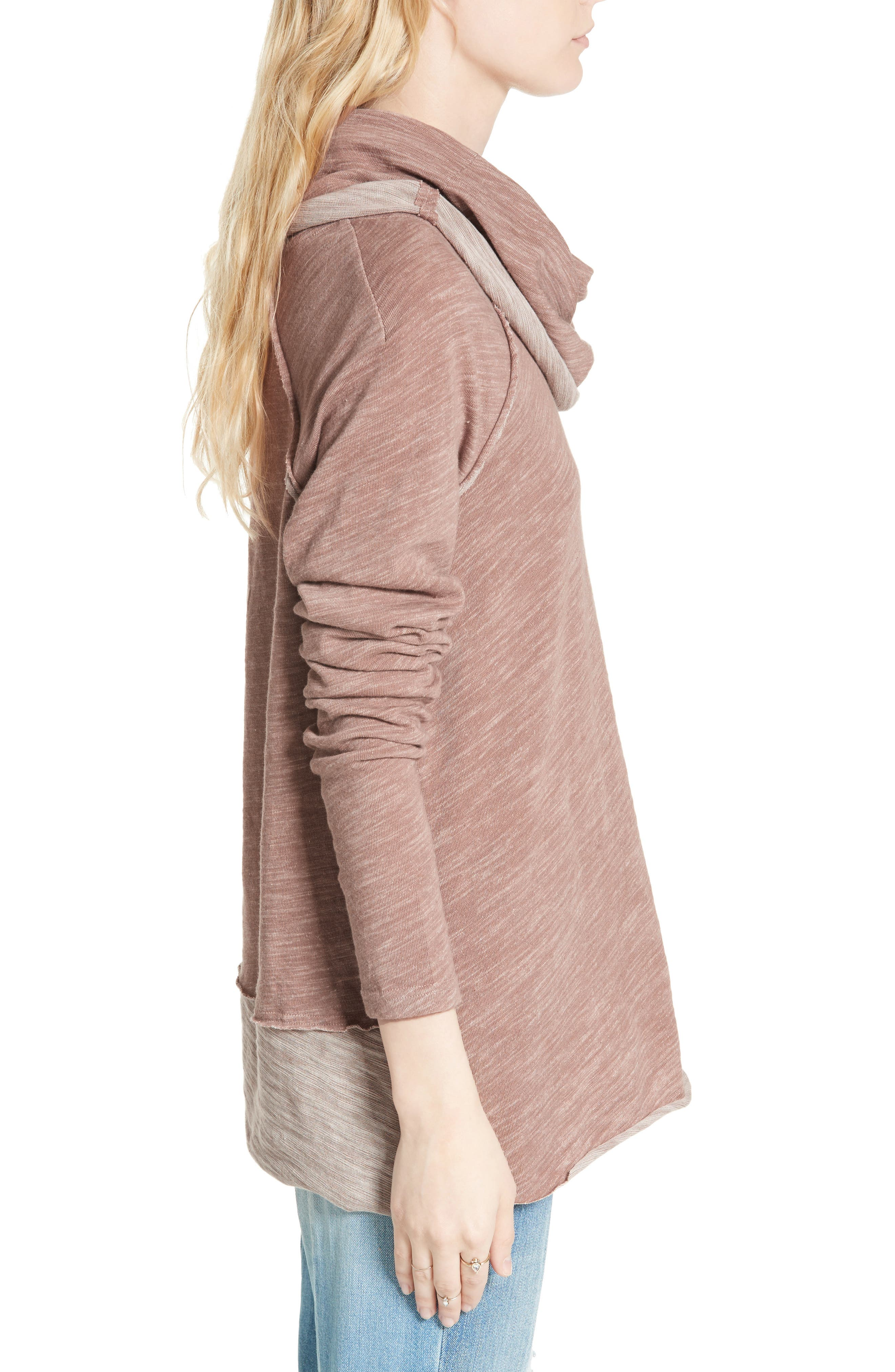 Alternate Image 3  - Free People 'Beach Cocoon' Cowl Neck Pullover