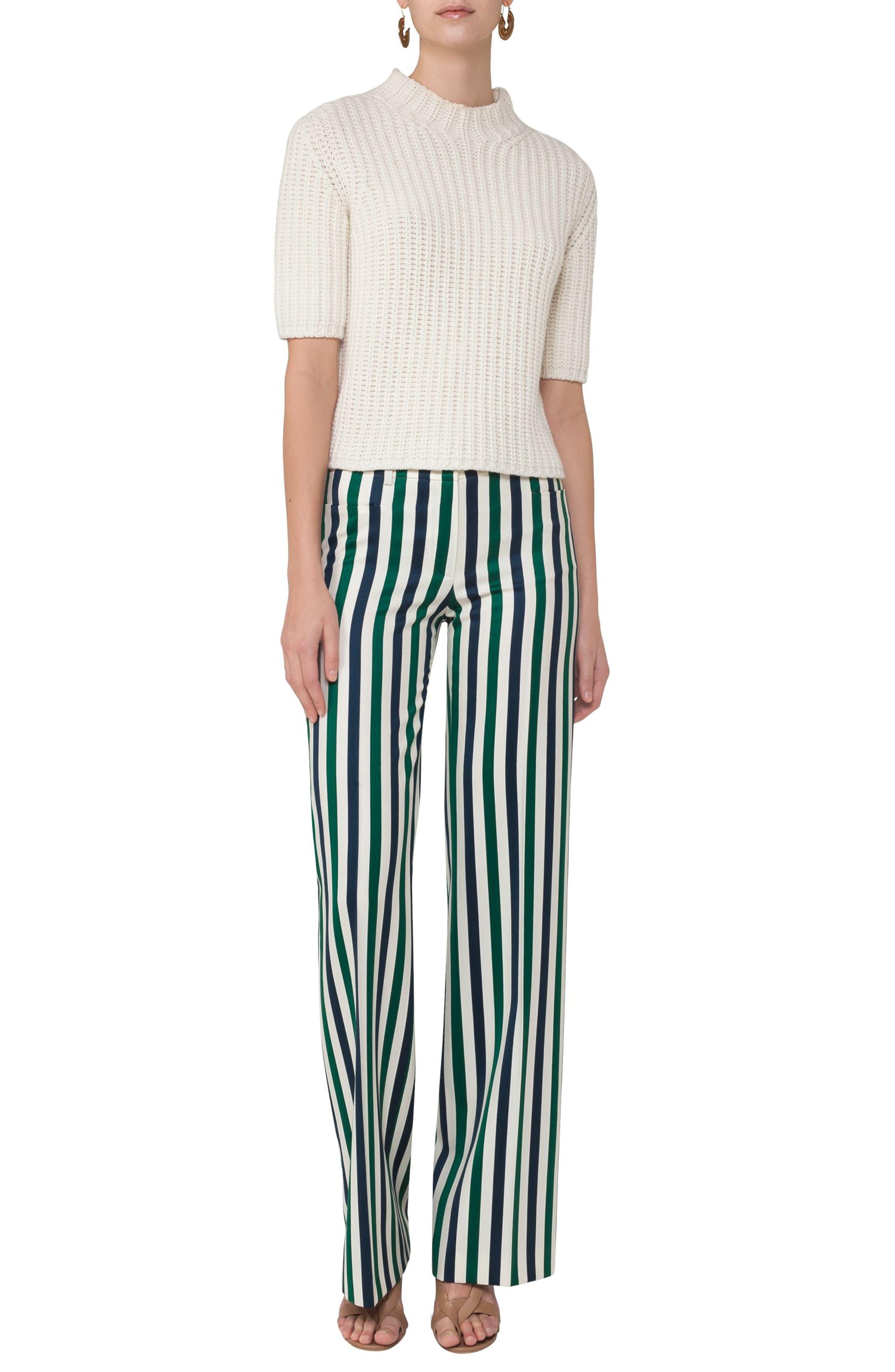 Alternate Image 3  - Akris punto Mikka Stripe Pants
