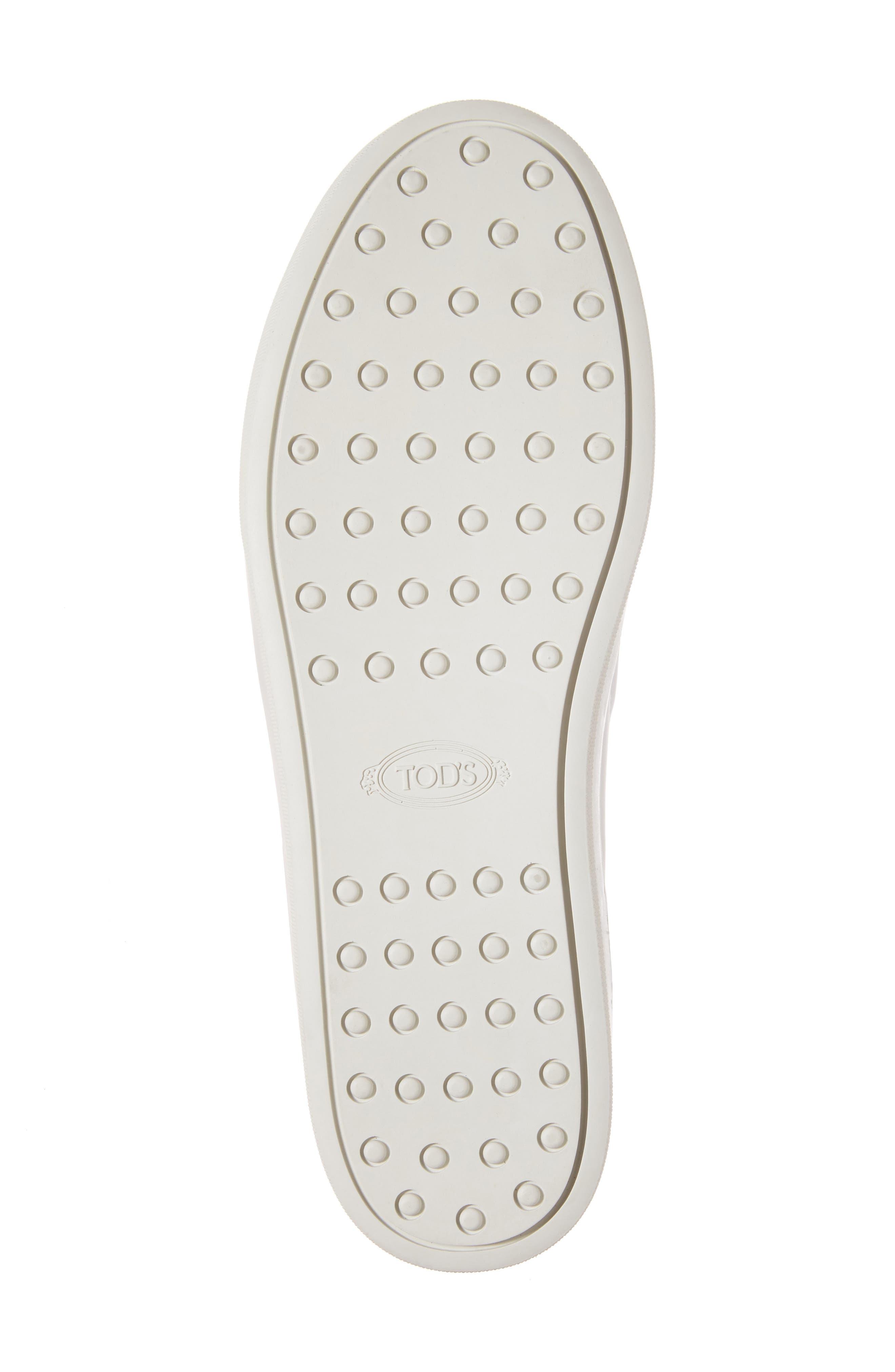 Alternate Image 6  - Tod's Double-T Kiltie Fringe Slip-On Sneaker (Women)
