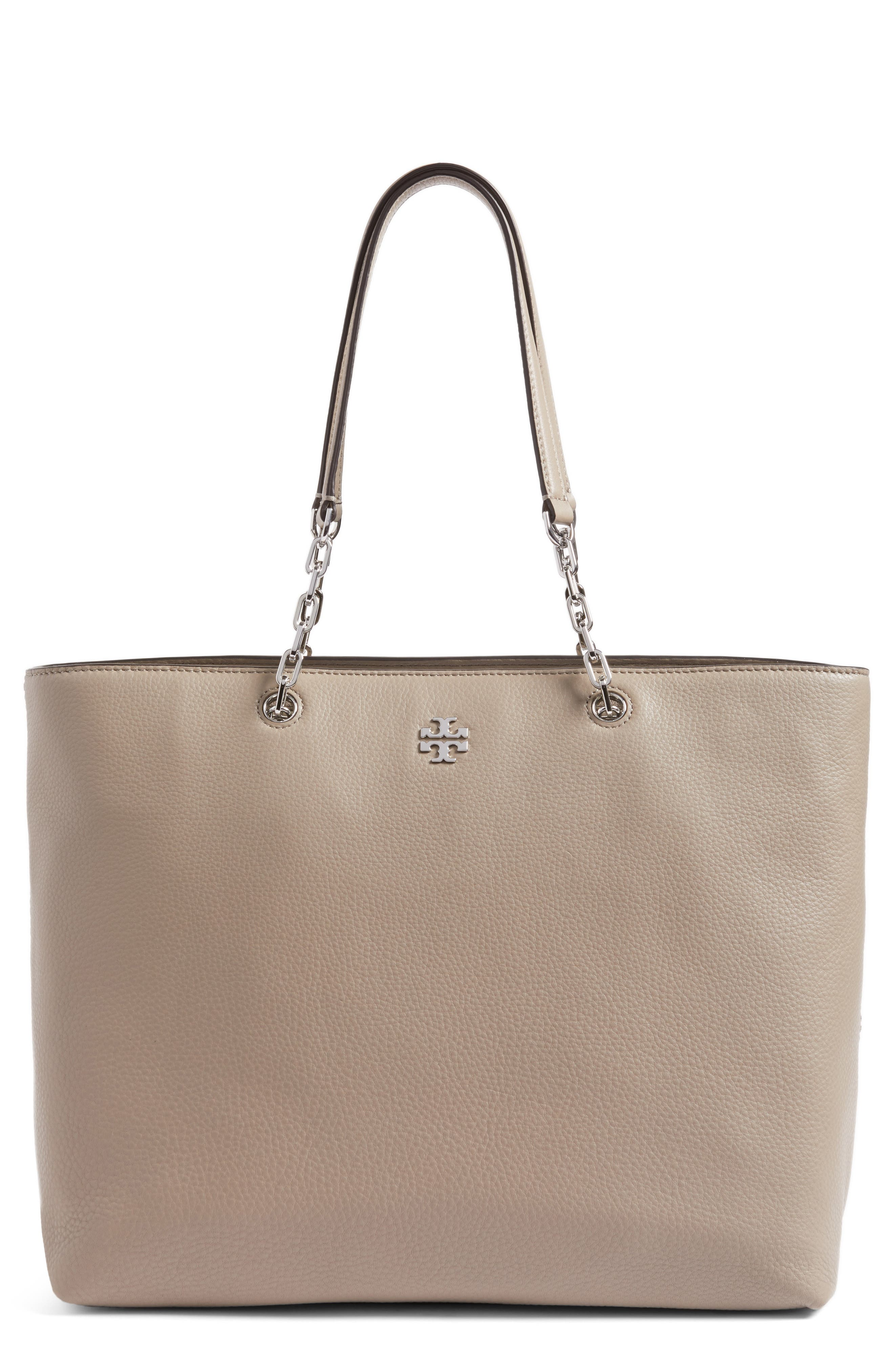 TORY BURCH Frida Pebbled Leather Tote