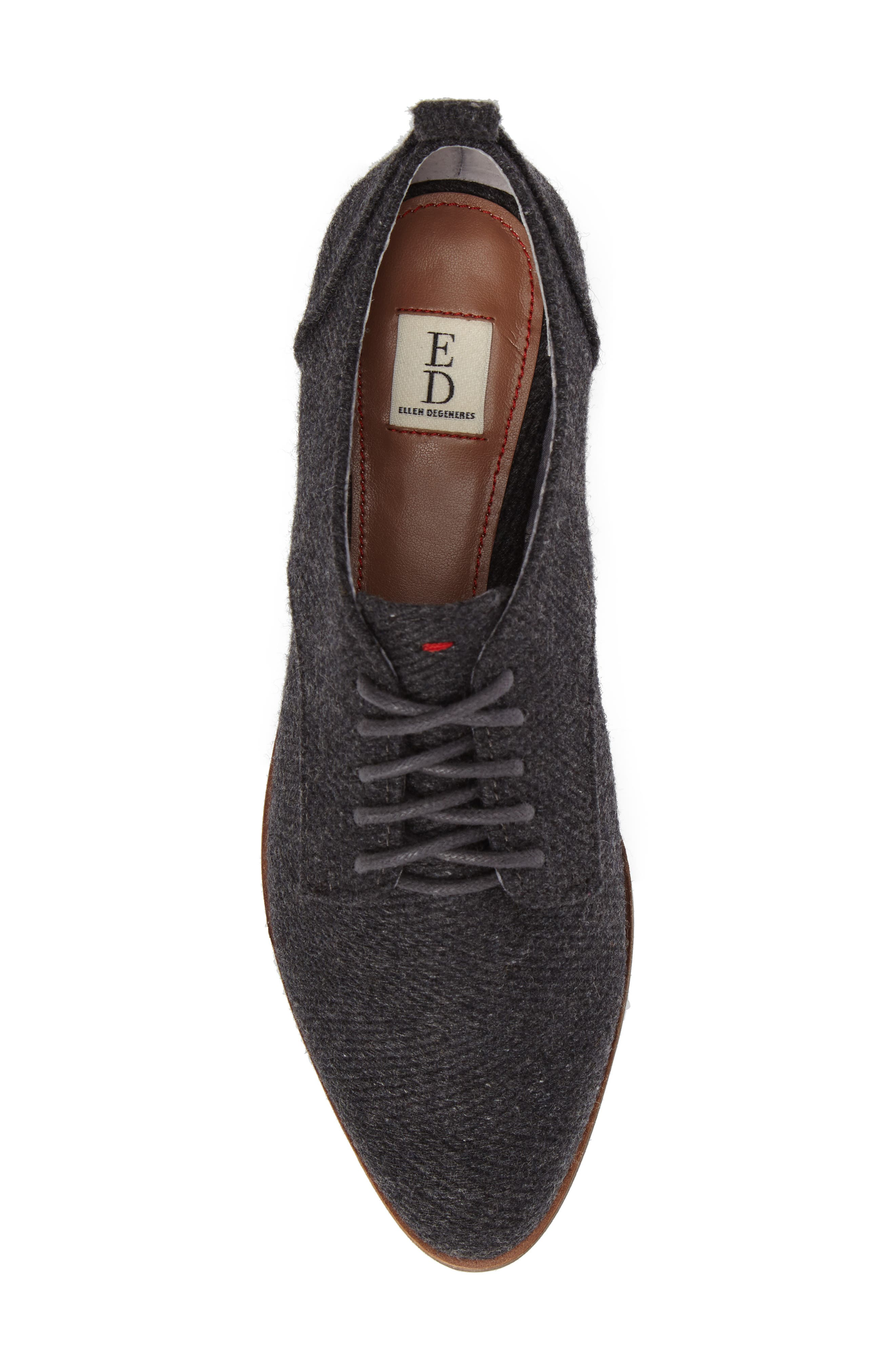 Kerrin Oxford,                             Alternate thumbnail 5, color,                             Grey Fabric