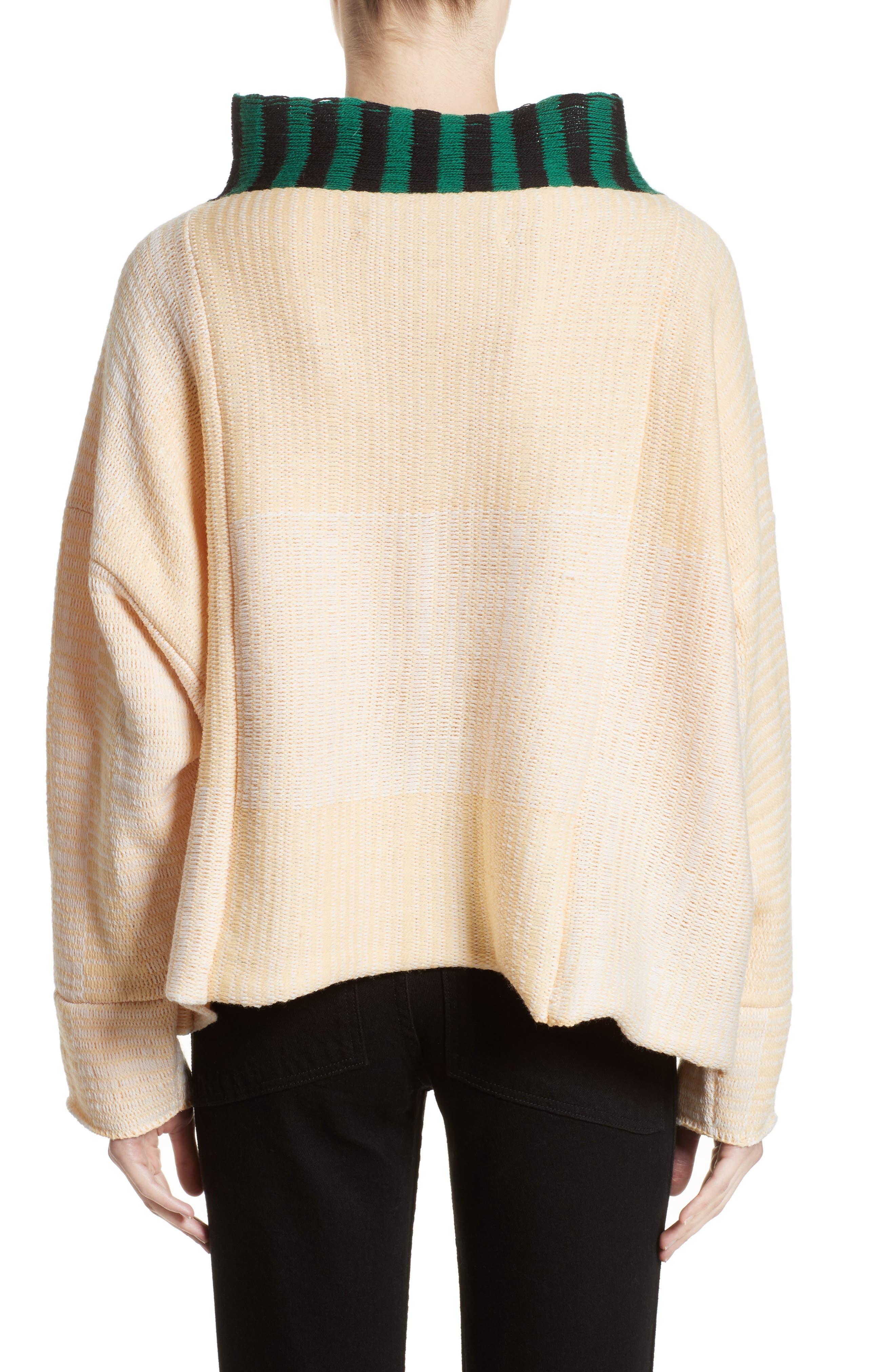 Alternate Image 2  - Eckhaus Latta Vented Dolman Sweater