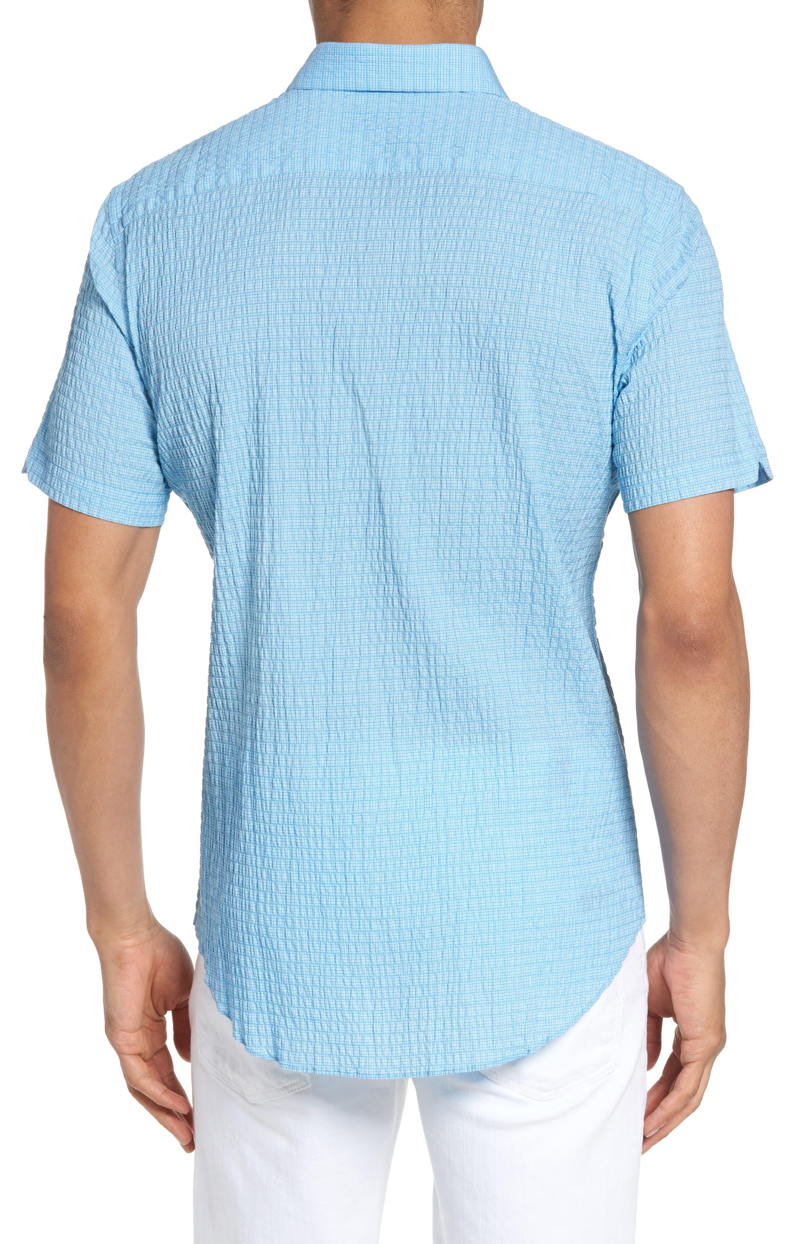 Morales Sport Shirt,                             Alternate thumbnail 2, color,                             Light Blue