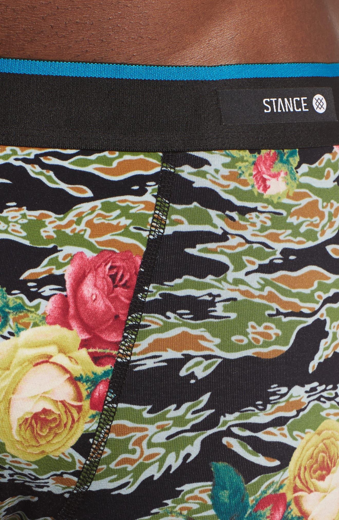 Alternate Image 4  - Stance Del Mar Tiger Roses Boxer Briefs