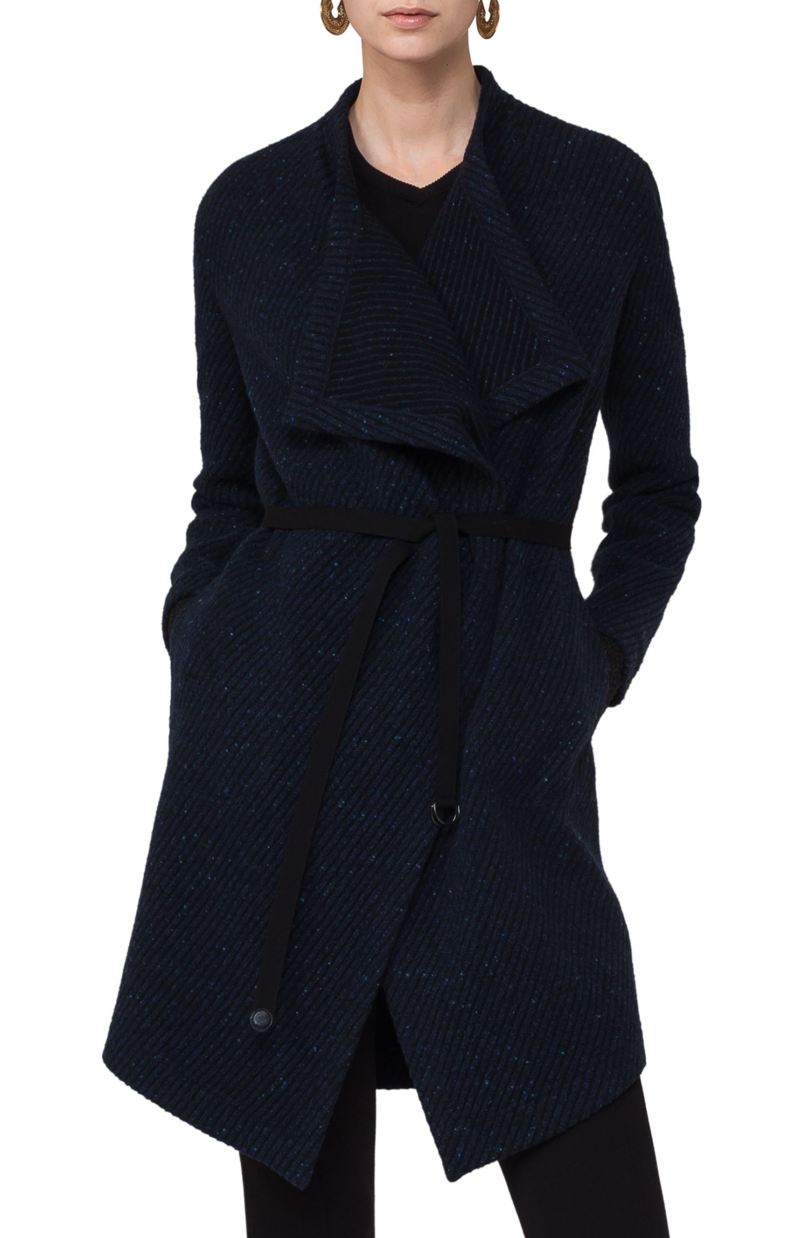 Akris punto Wool Blend Gabardine Coat