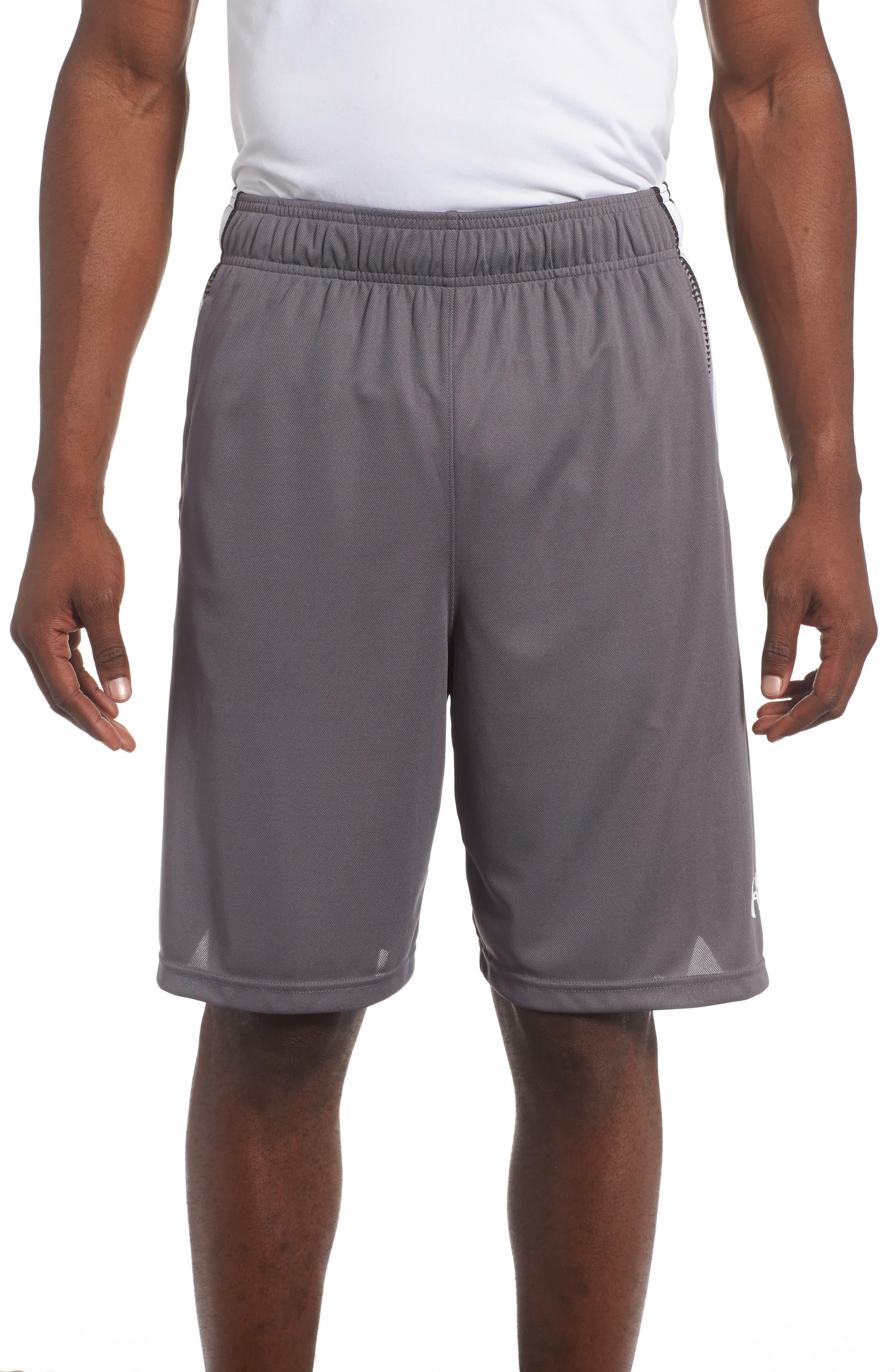 Select Basketball Shorts,                         Main,                         color, Graphite/ White