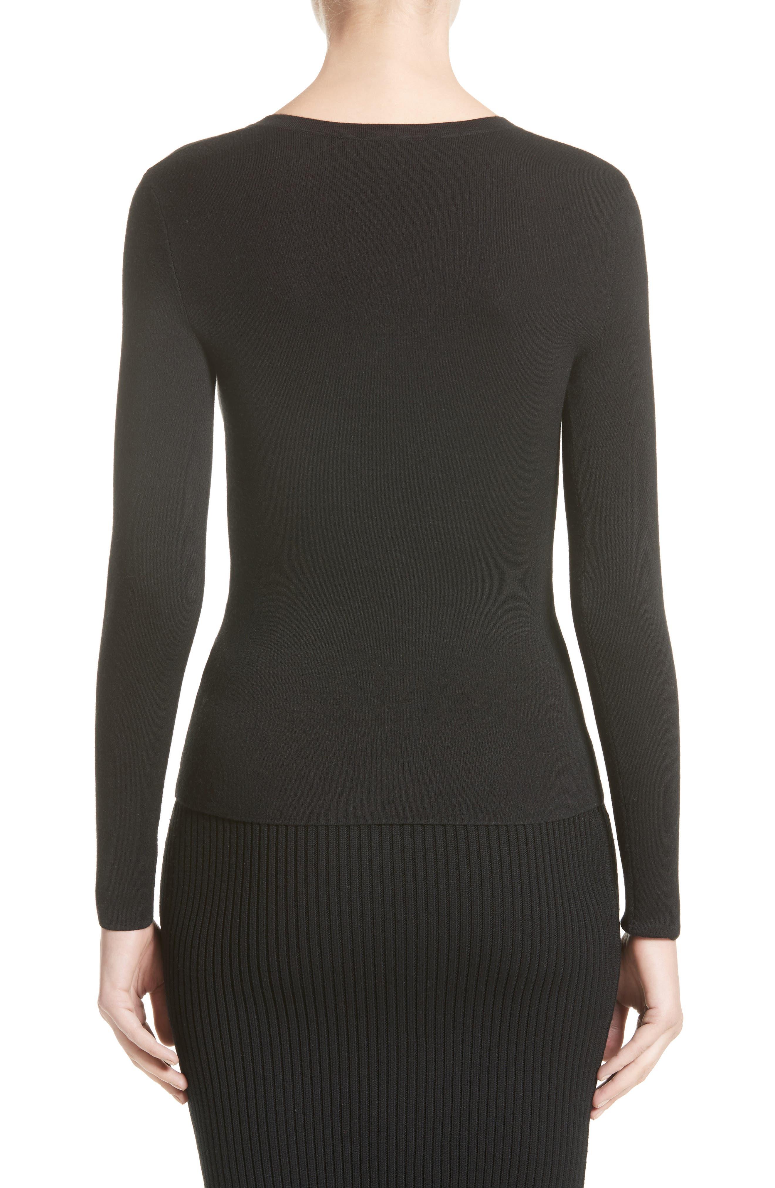 Alternate Image 2  - Michael Kors Cashmere V-Neck Sweater