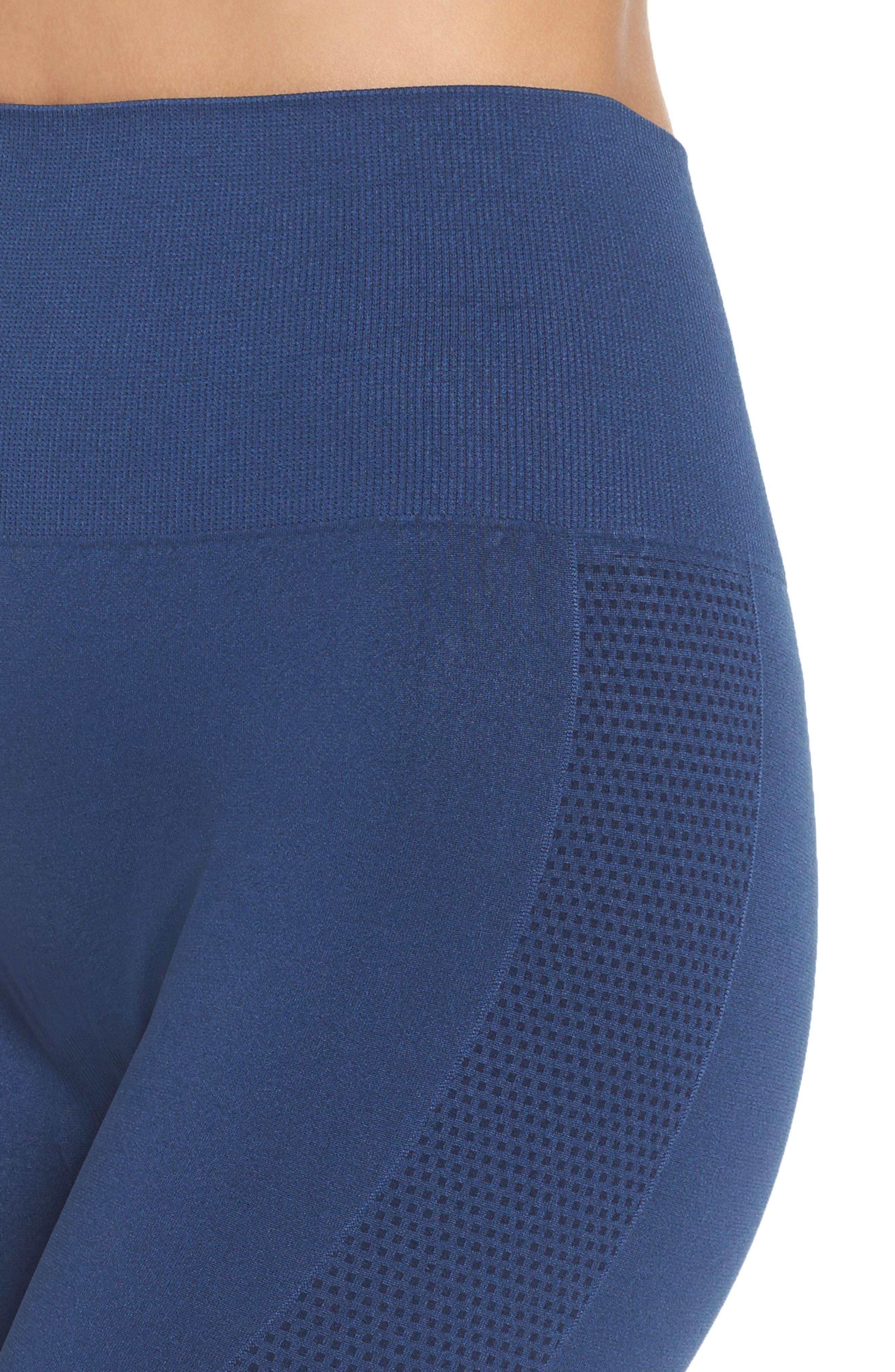 Alternate Image 4  - Climawear Set the Pace High Waist Capri Leggings