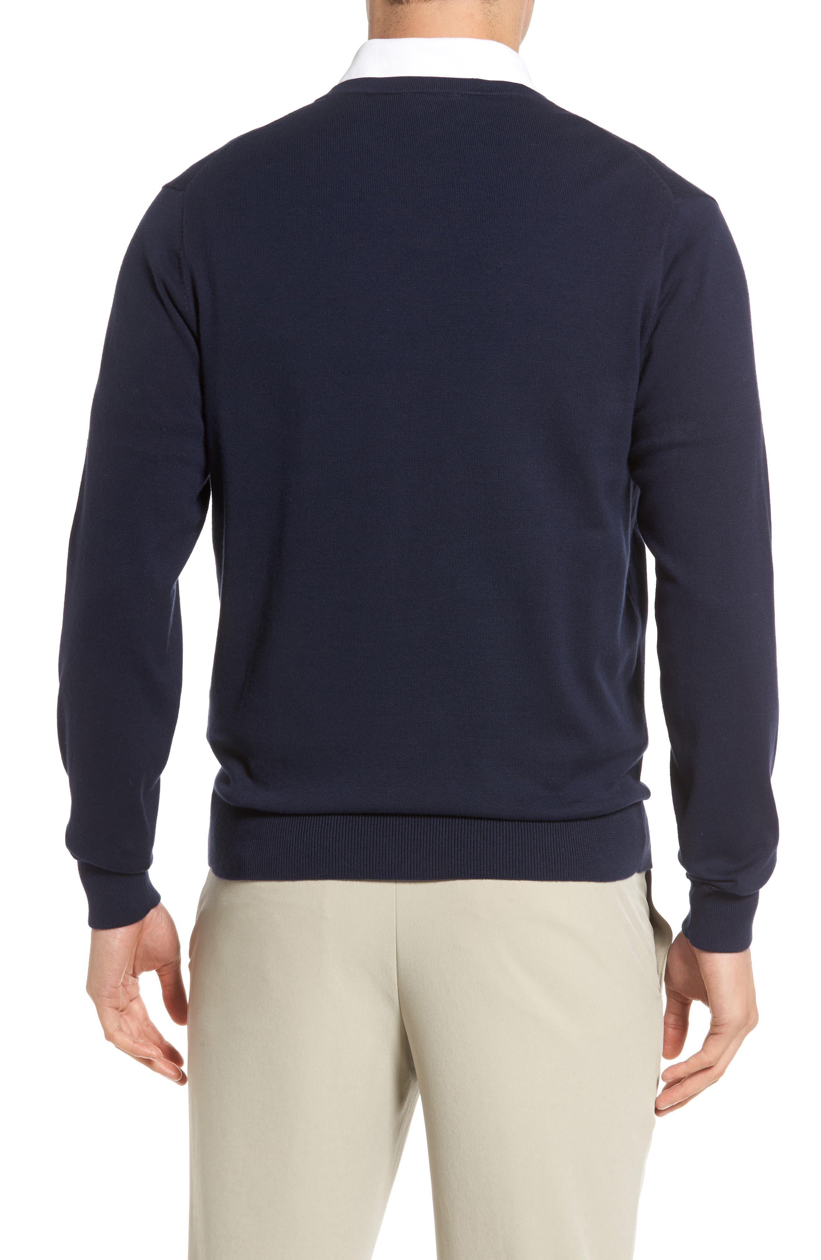 Alternate Image 2  - Cutter & Buck Lakemont V-Neck Sweater