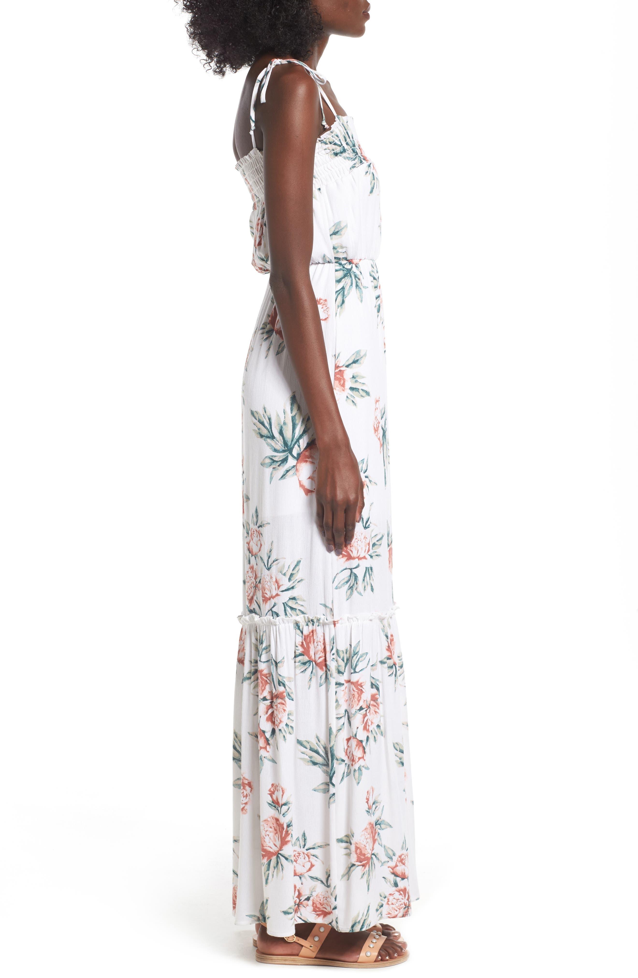 Alternate Image 3  - Dee Elly Floral Print Maxi Dress