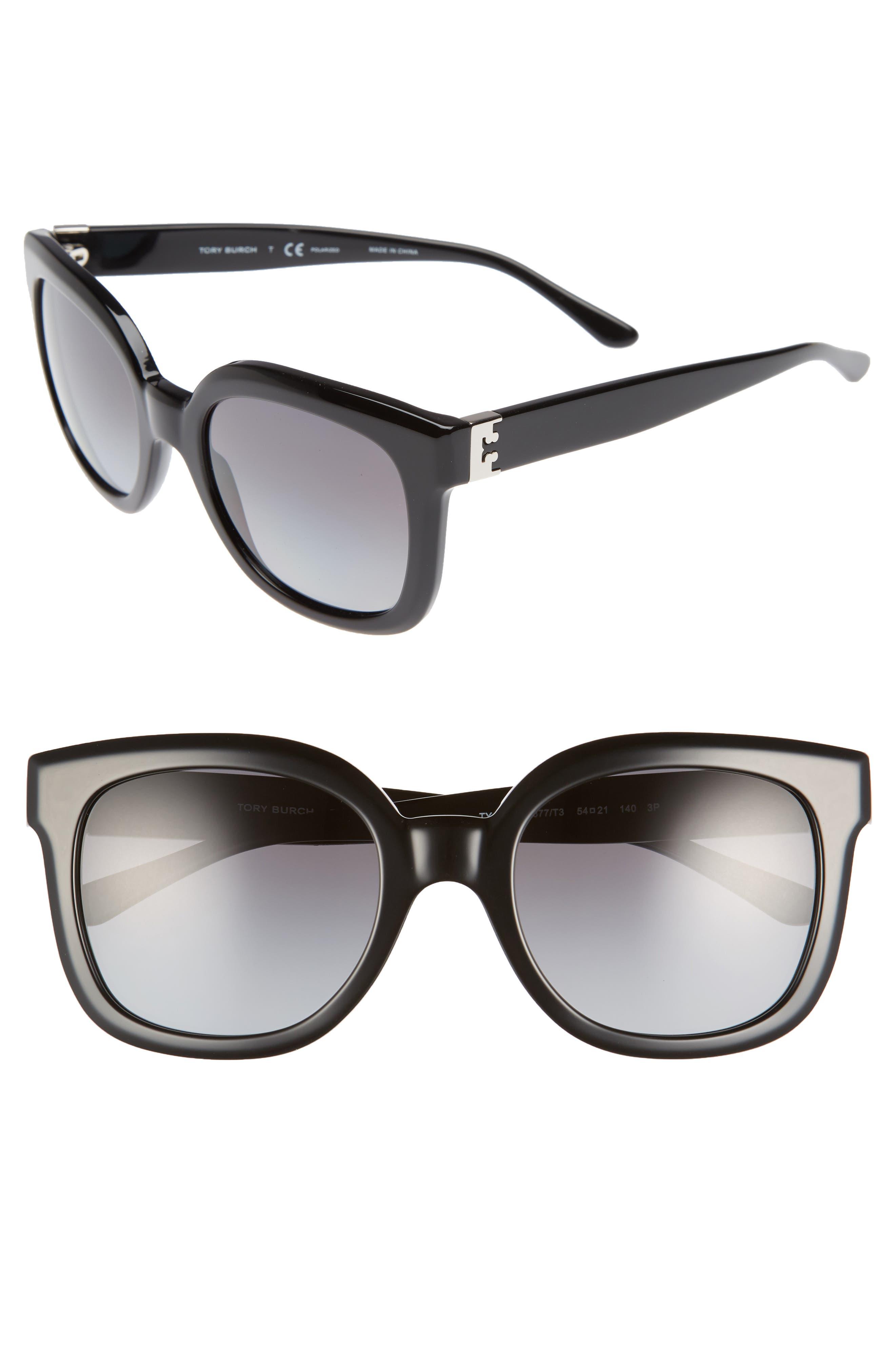Tory Burch Modern-T 54mm Gradient Cat Eye Sunglasses