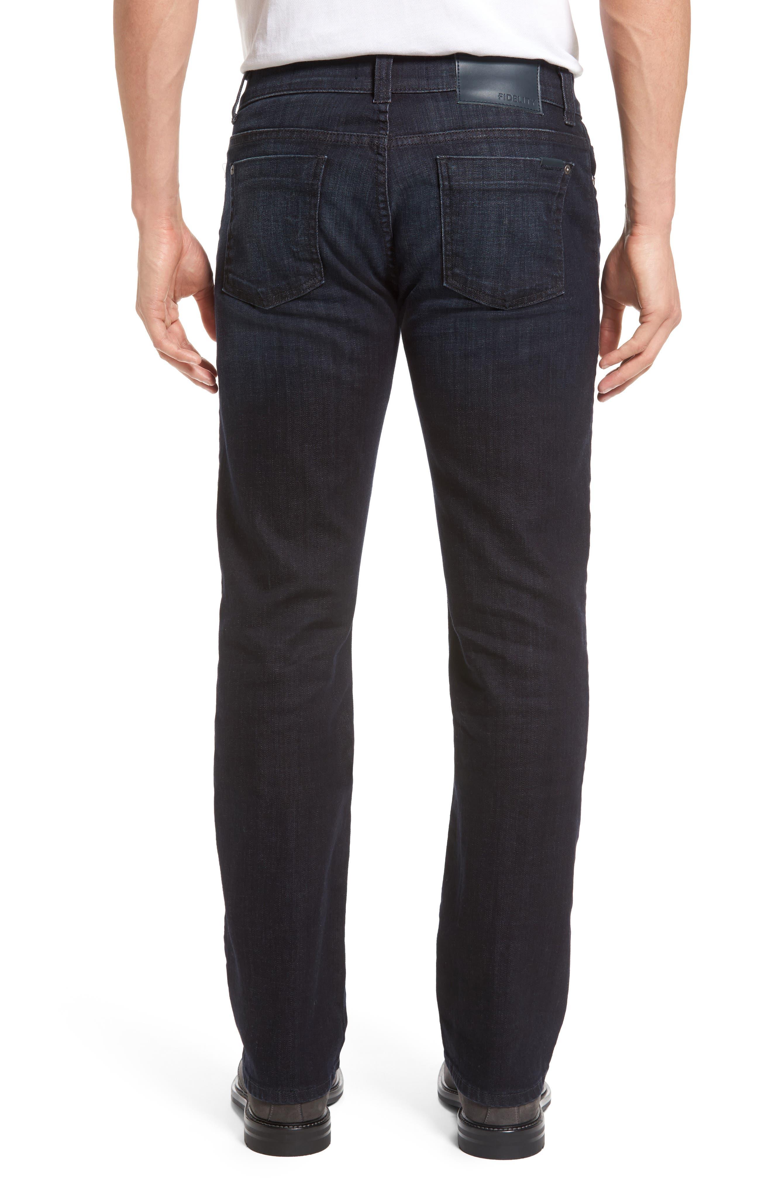 Alternate Image 2  - Fidelity Denim 5011 Relaxed Fit Jeans (Harvard)