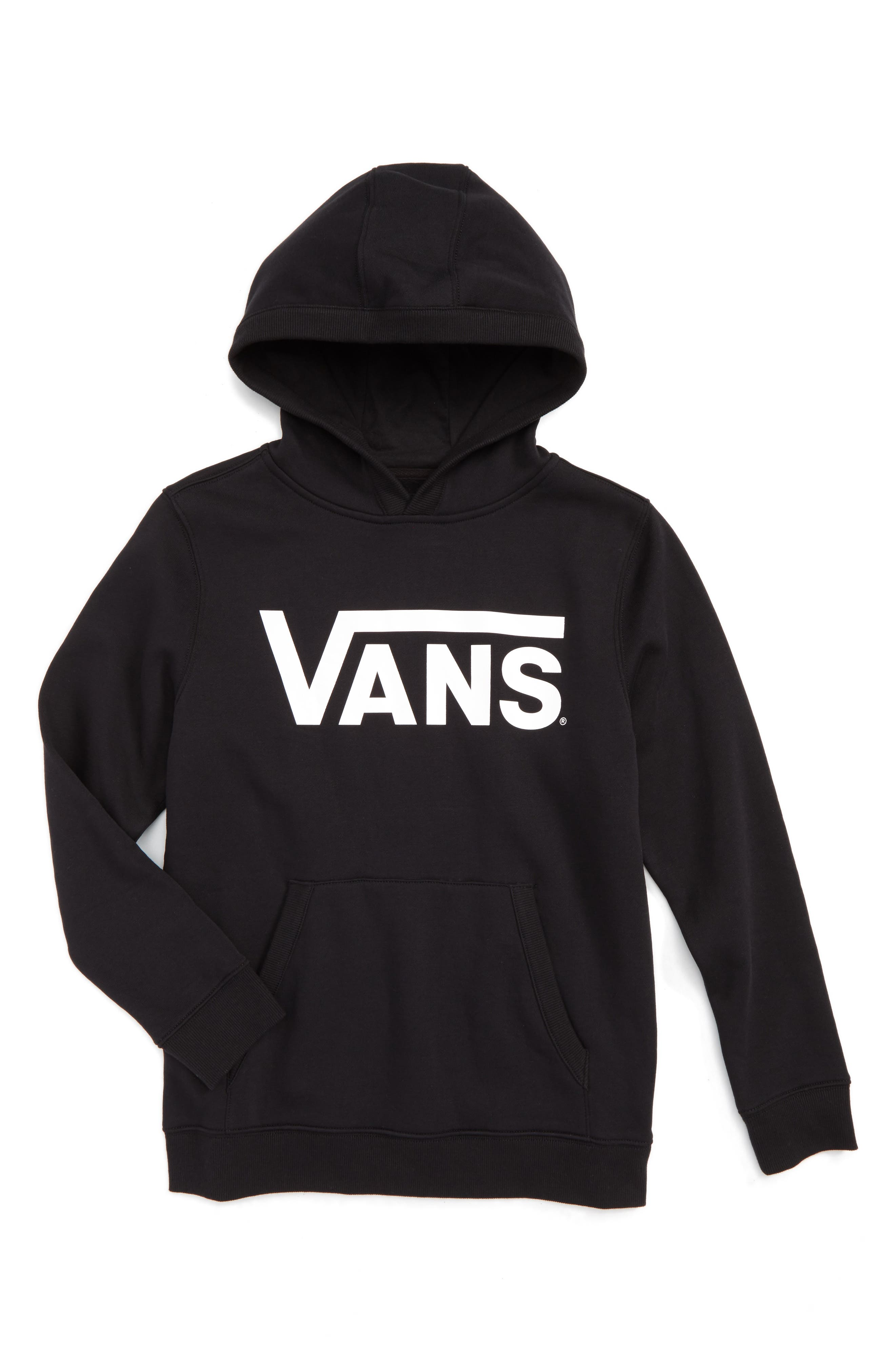 Classic Graphic Hoodie,                         Main,                         color, Black