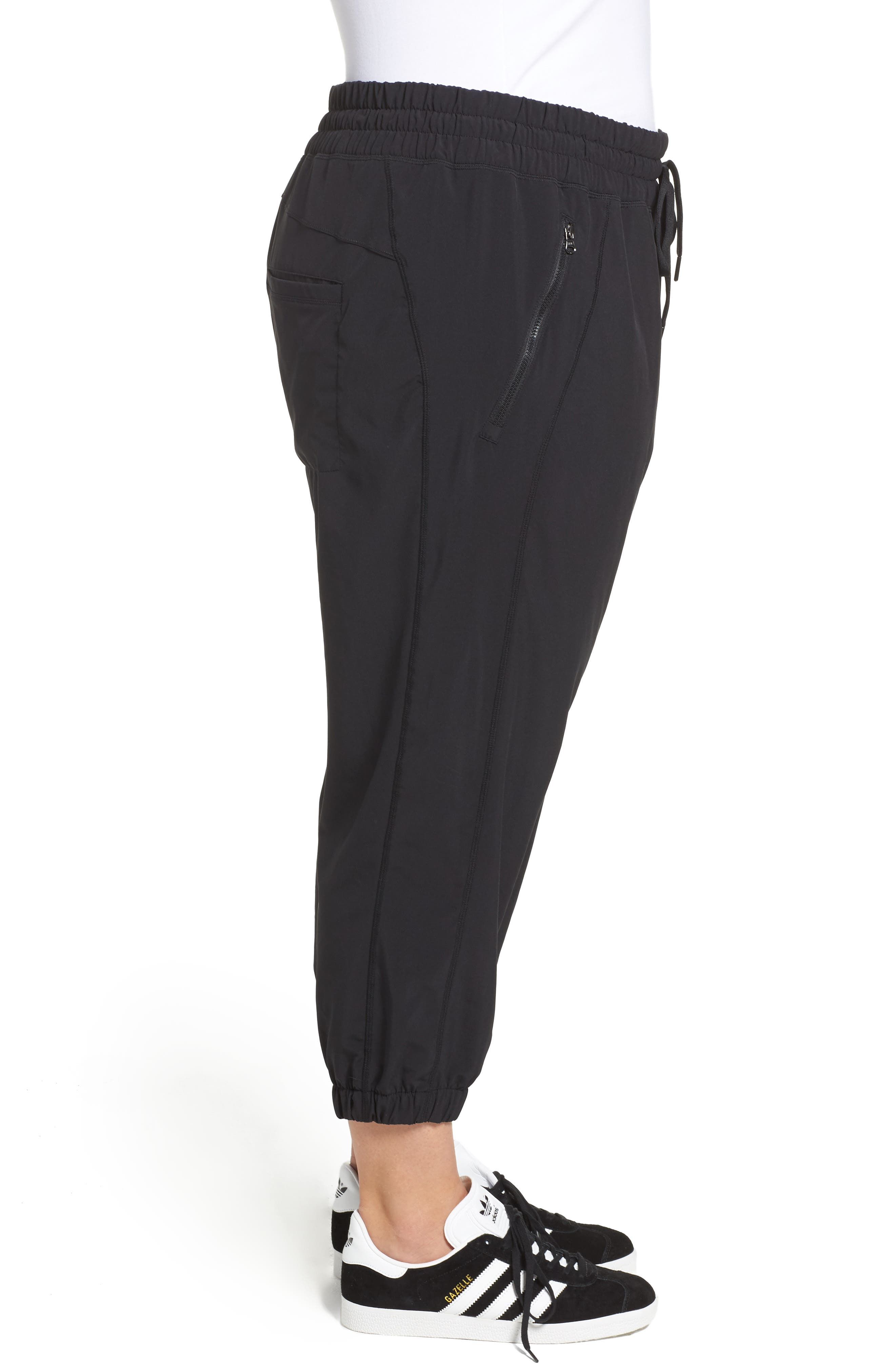 Alternate Image 3  - Zella Out & About Crop Jogger Pants (Plus Size)