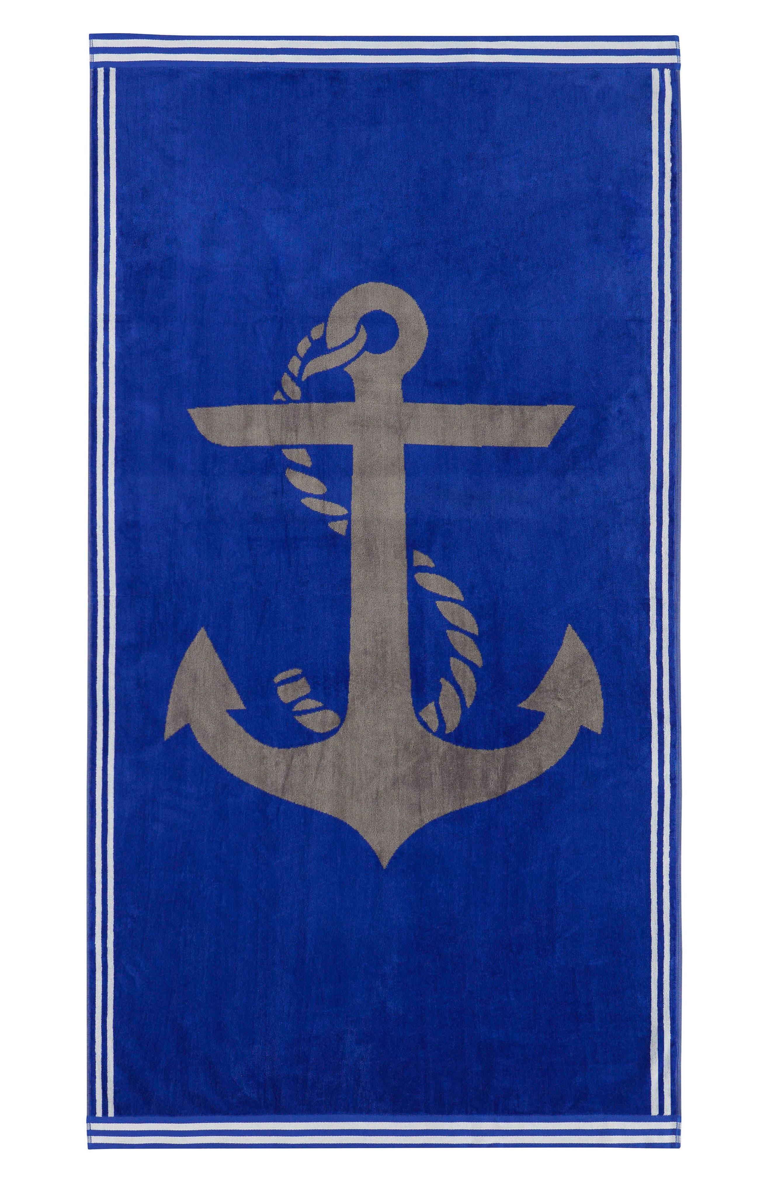 Alternate Image 1 Selected - Nautica Ship Ahoy Beach Towel