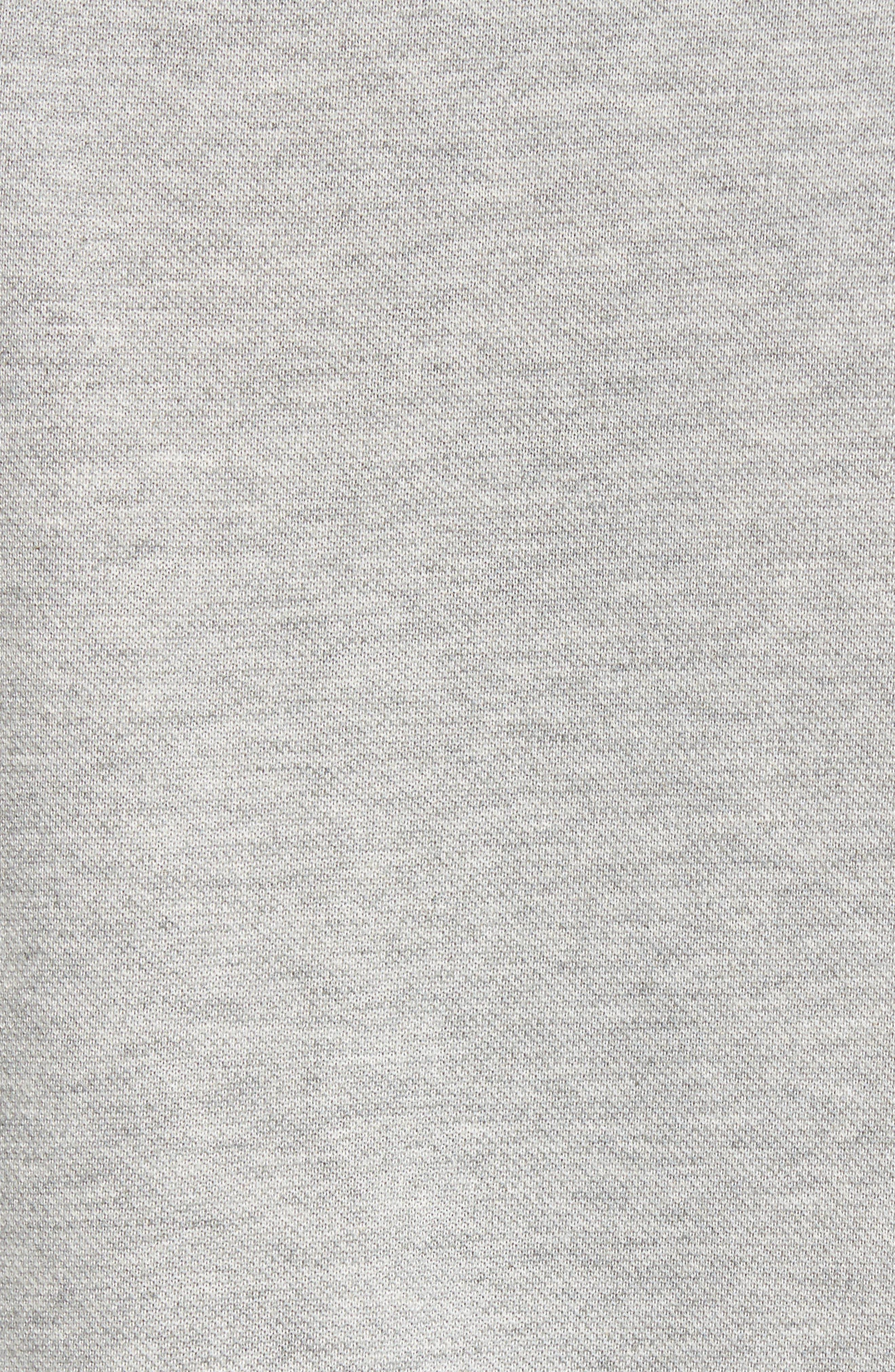 Dri-FIT Piqué Polo,                             Alternate thumbnail 5, color,                             Dark Grey Heather/ Anthracite