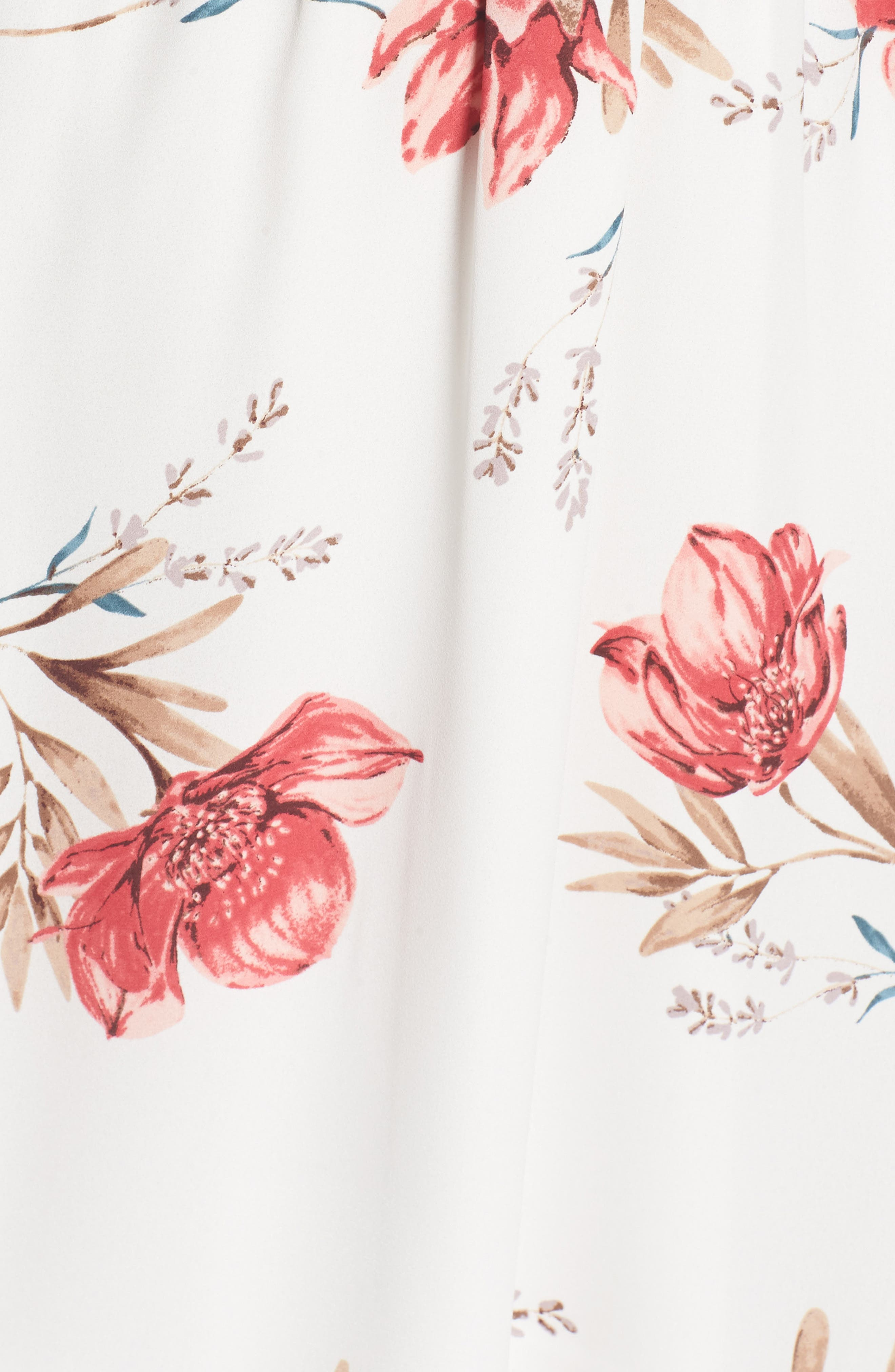 Alternate Image 5  - Back Tie Blouson Dress