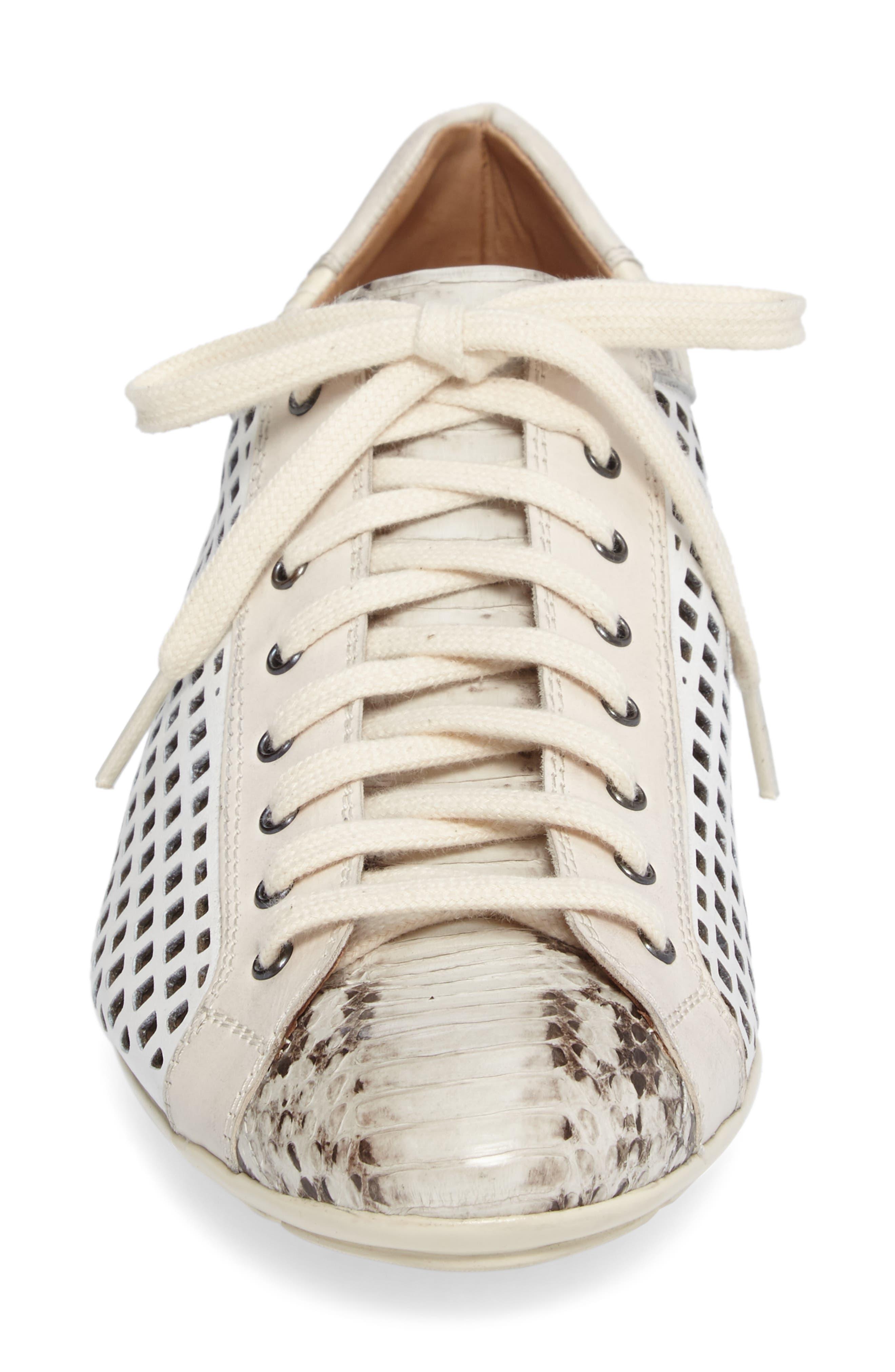 Scharf Sneaker,                             Alternate thumbnail 4, color,                             Bone