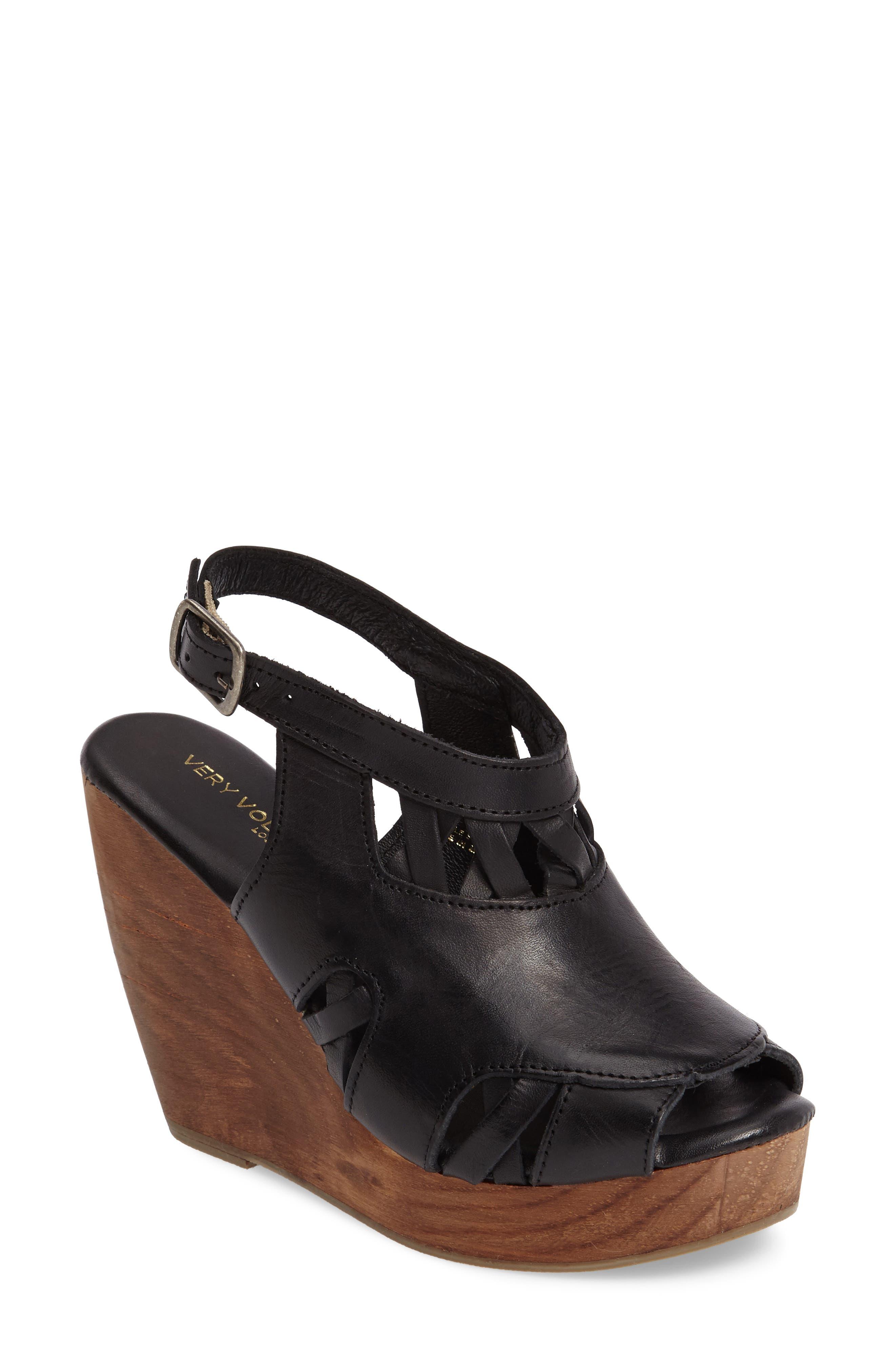 Alternate Image 1 Selected - Very Volatile Sloane Platform Wedge Sandal (Women)