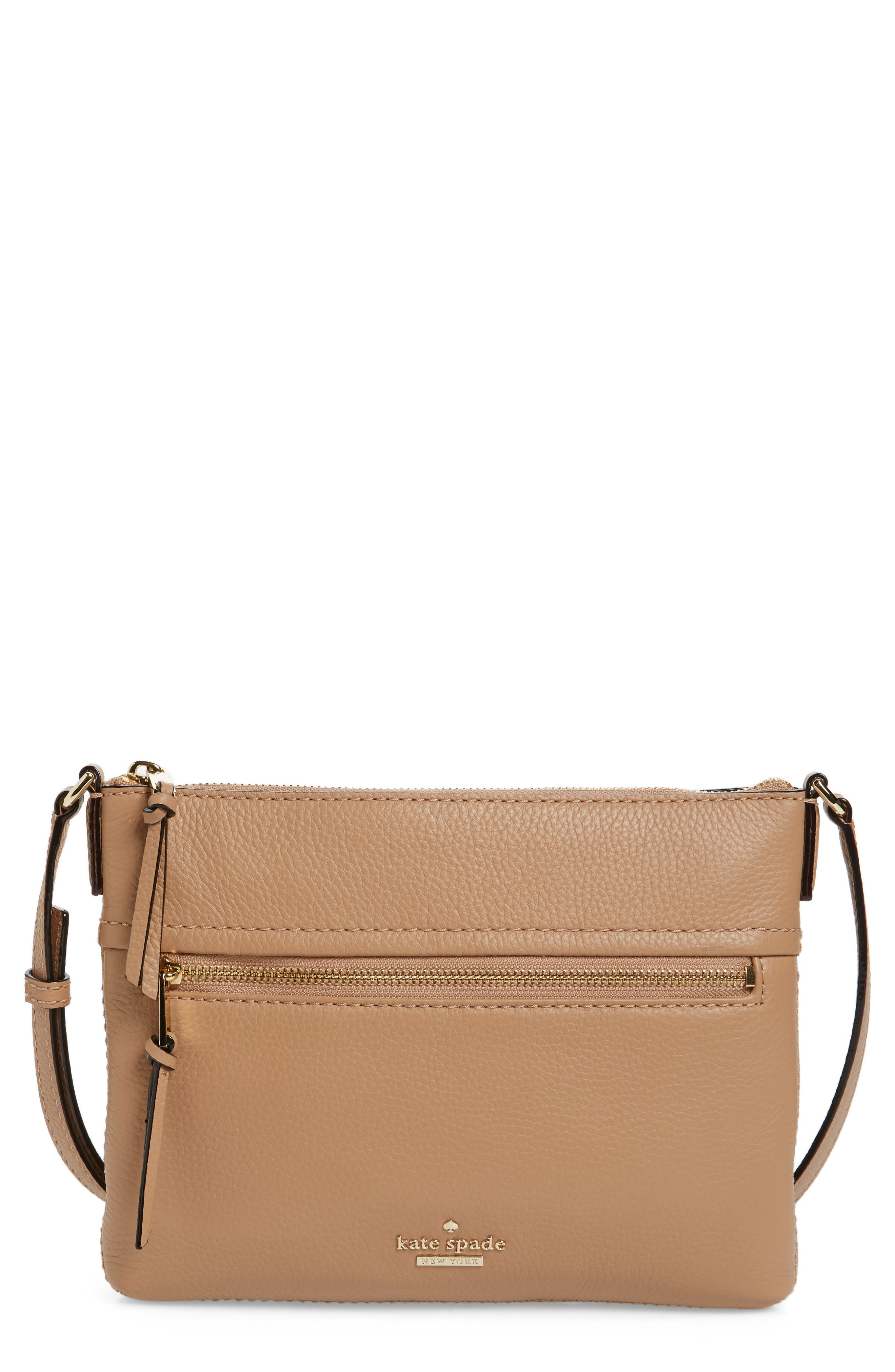 kate spade new york jackson street - gabriele leather crossbody bag