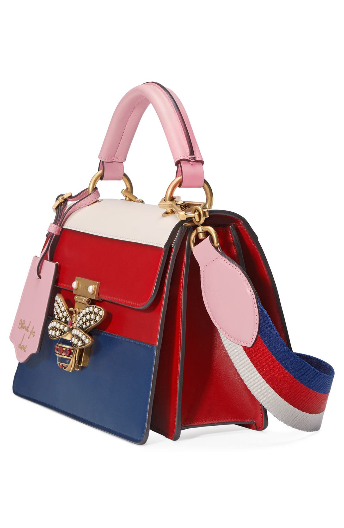 Alternate Image 4  - Gucci Queen Margaret Top Handle Leather Satchel