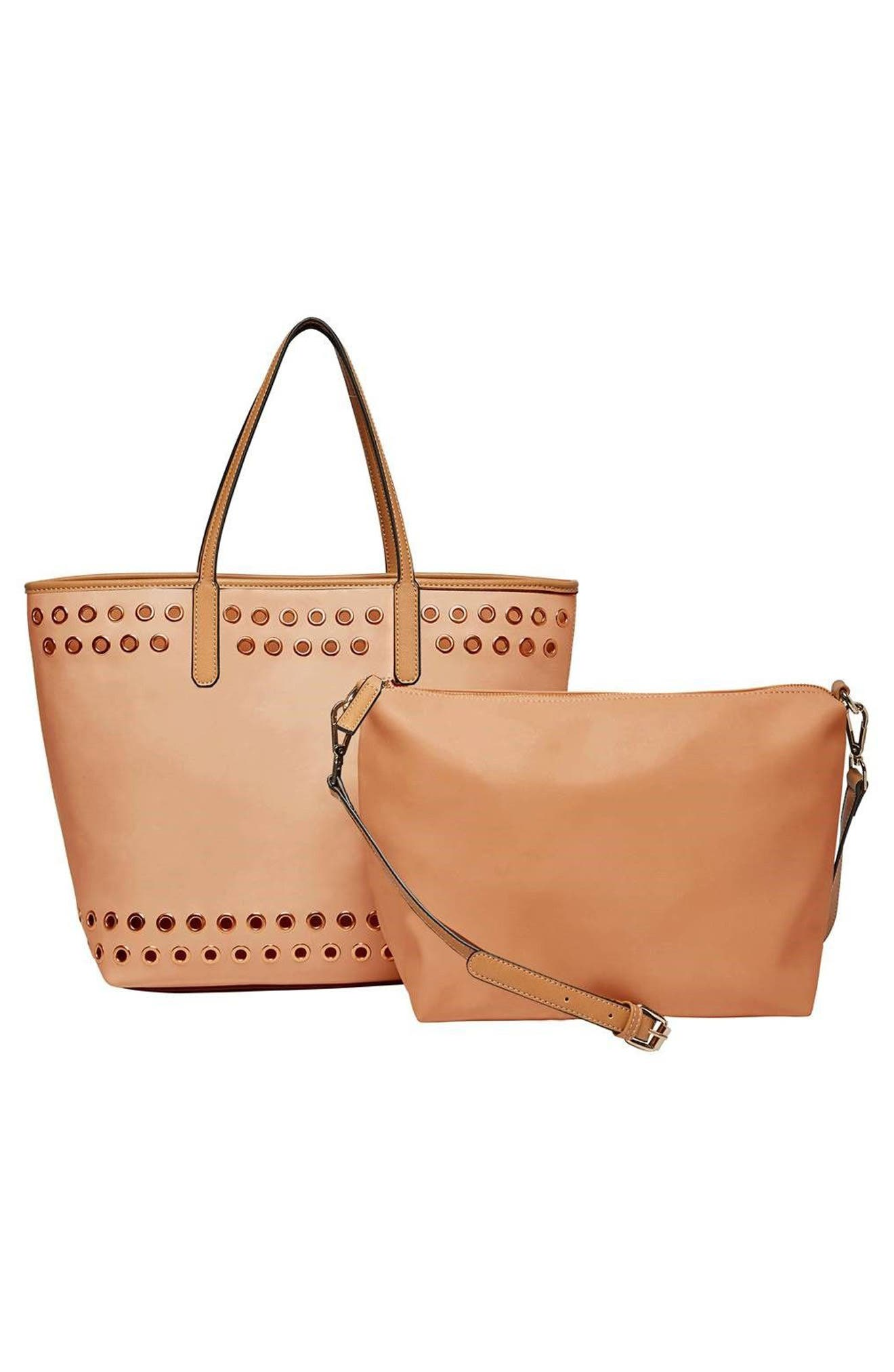 Alternate Image 2  - Urban Originals Wonderland Vegan Leather Tote & Shoulder Bag