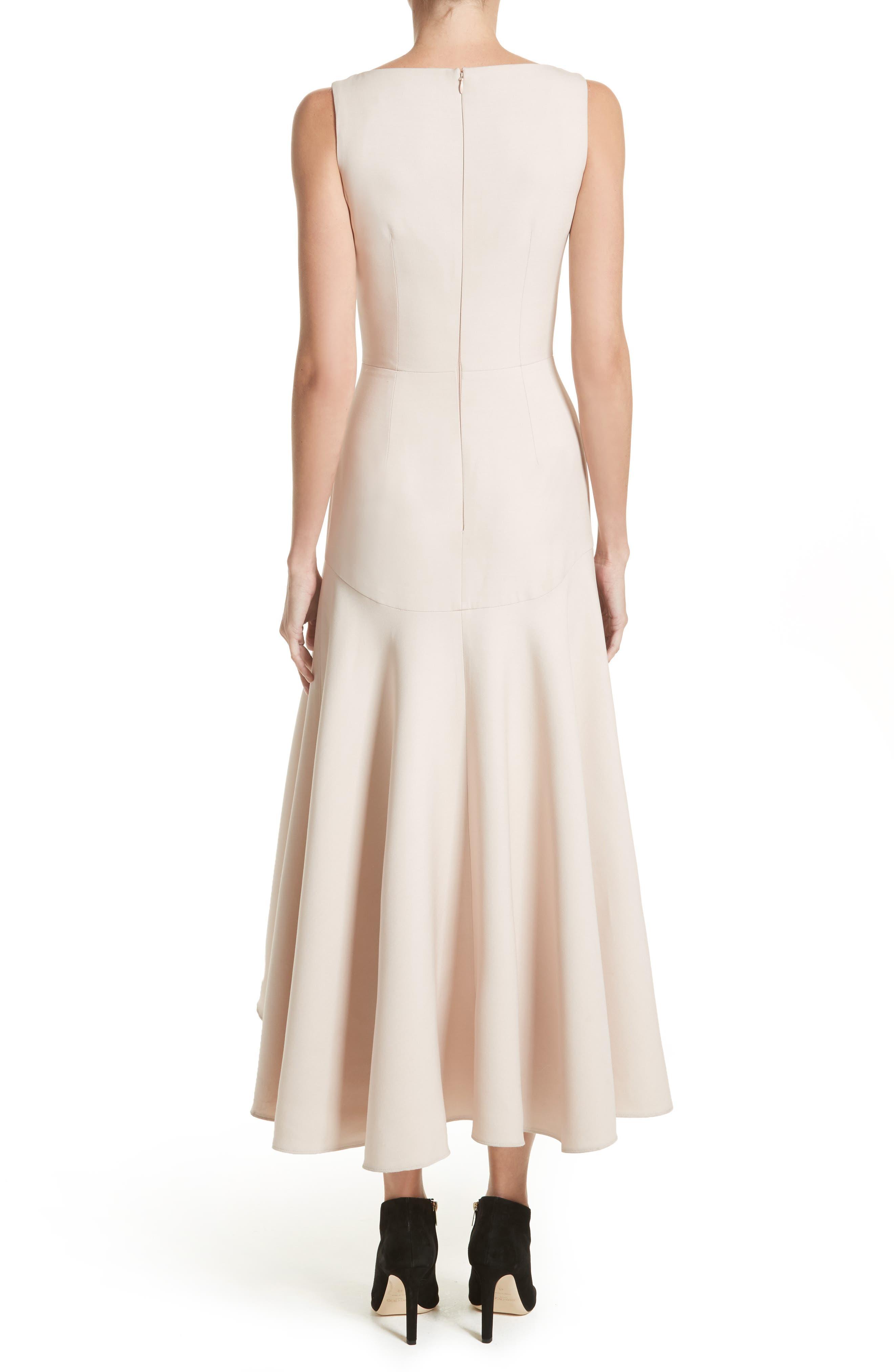 Alternate Image 2  - Alexander McQueen Silk Asymmetrical Dress