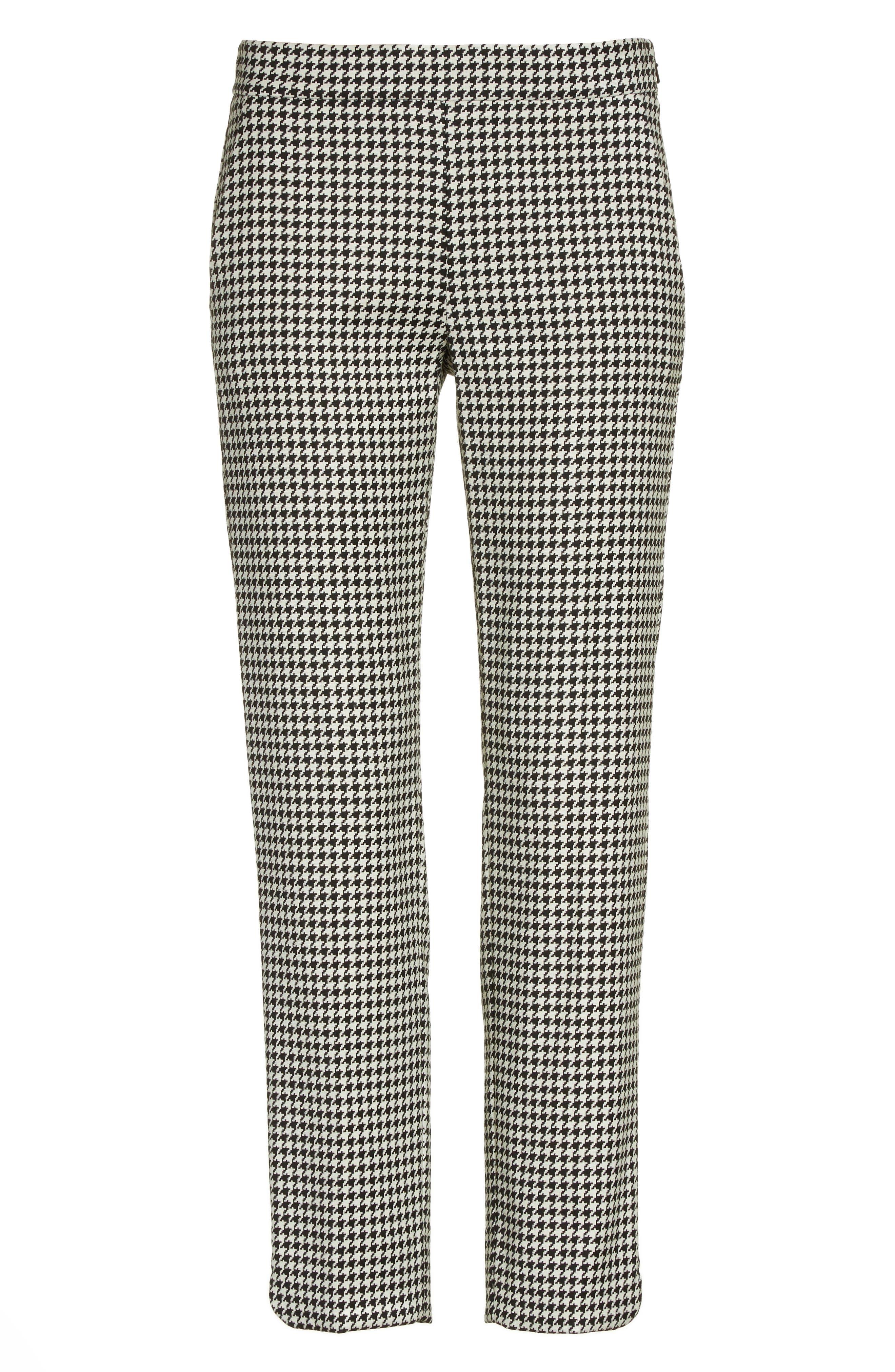 Alternate Image 4  - Max Mara Astrale Houndstooth Wool Blend Pants
