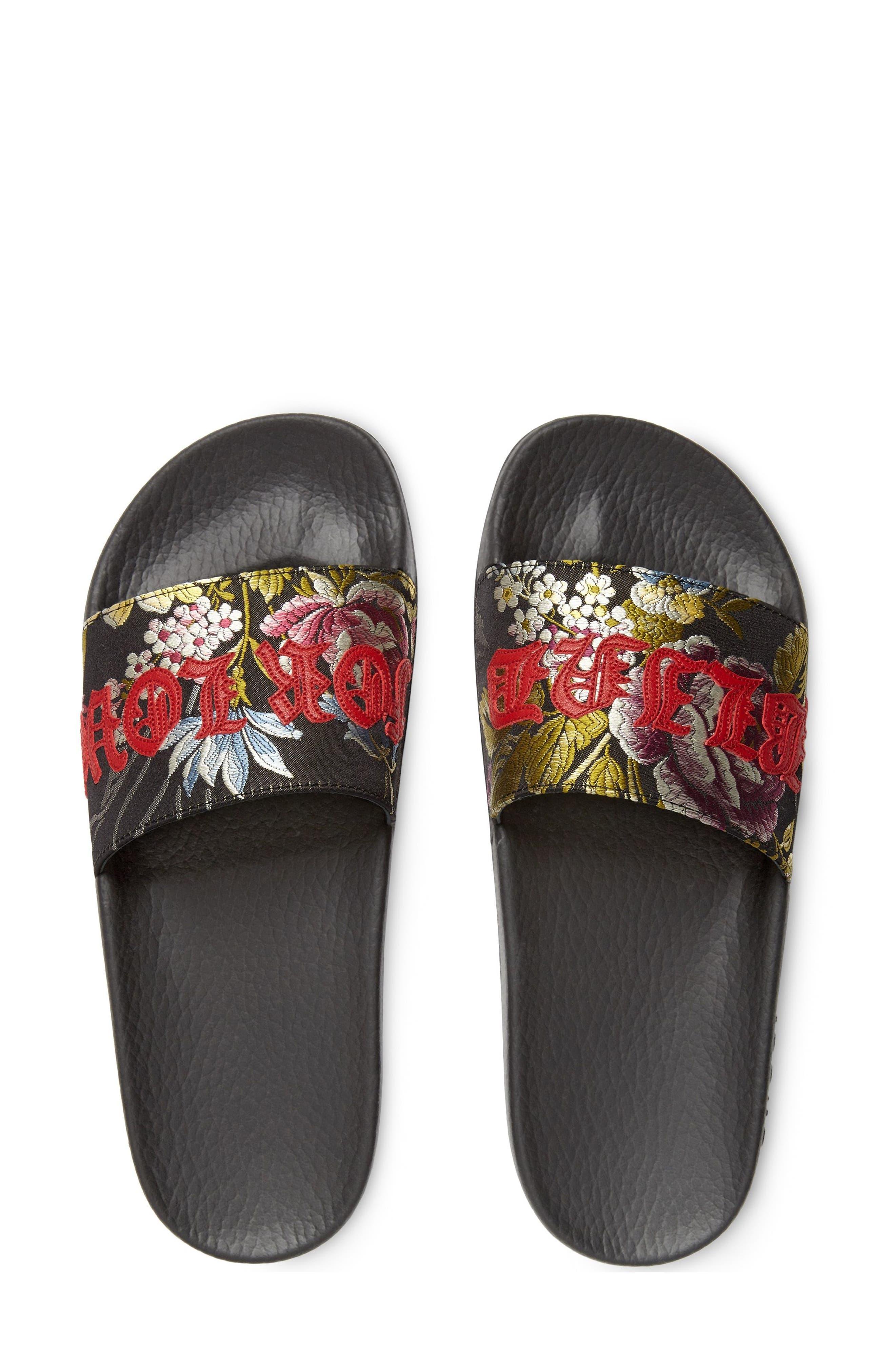 Alternate Image 2  - Gucci Pursuit Blind for Love Slide Sandal (Women)