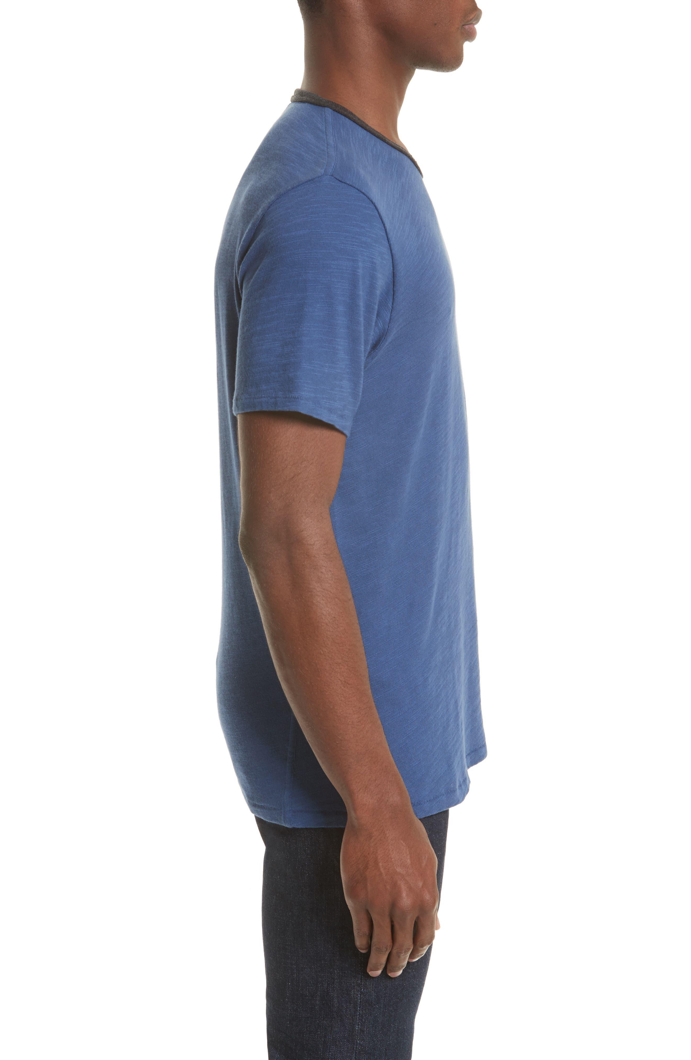 Alternate Image 3  - rag & bone Slub Cotton Jersey T-Shirt