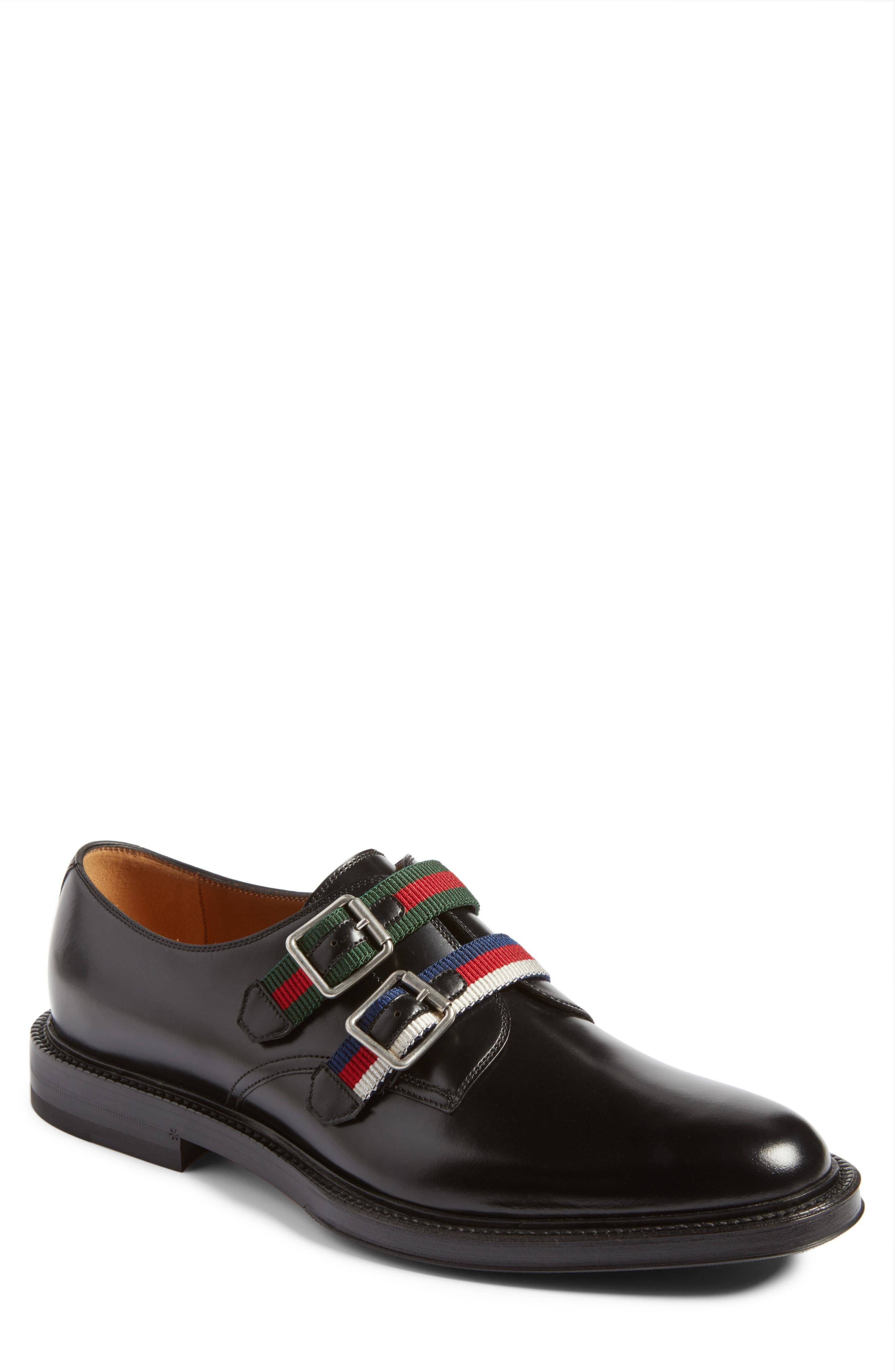 Main Image - Gucci Beyond Belted Derby (Men)