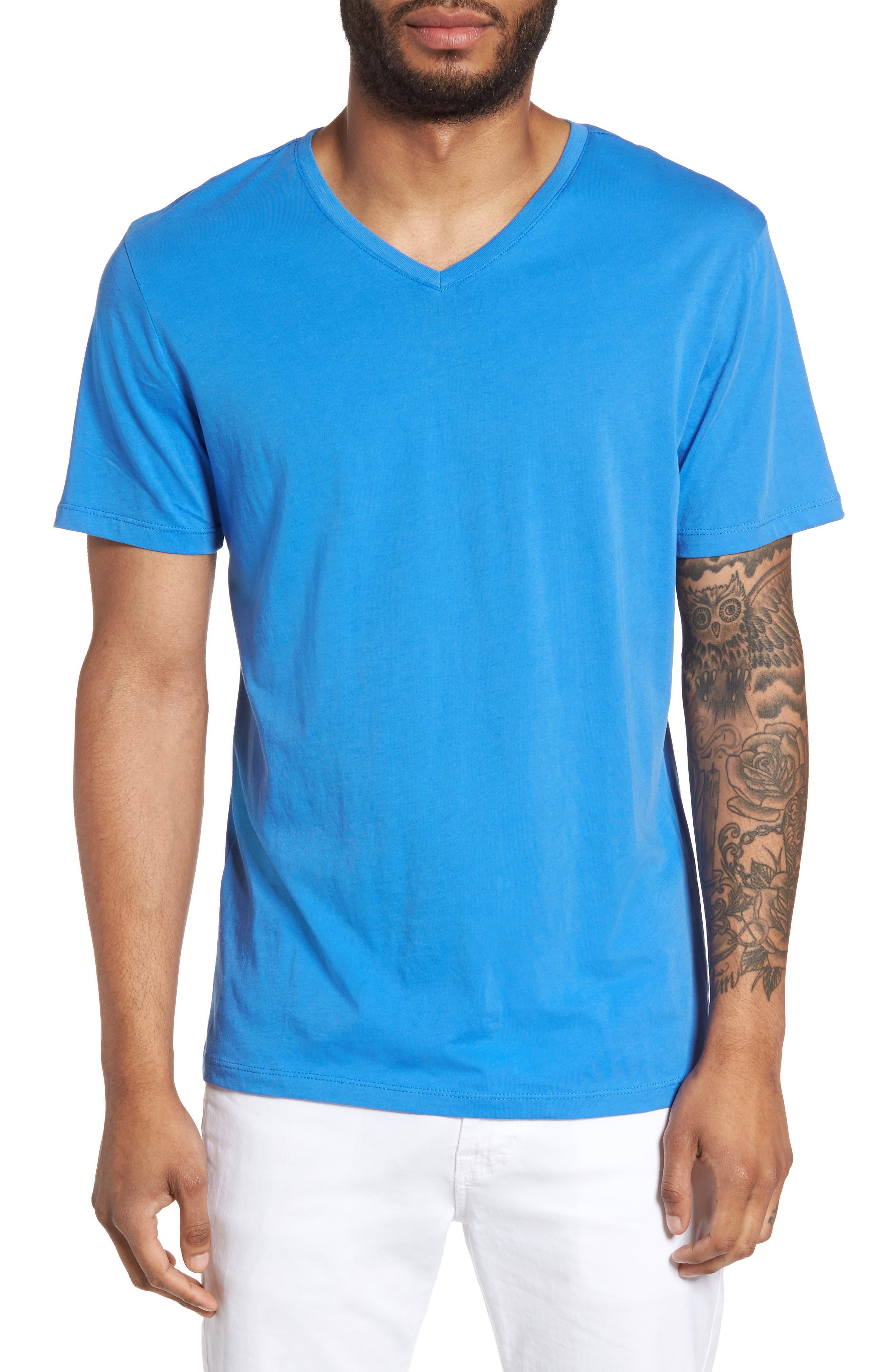 Alternate Image 1 Selected - Slate & Stone Slim V-Neck T-Shirt