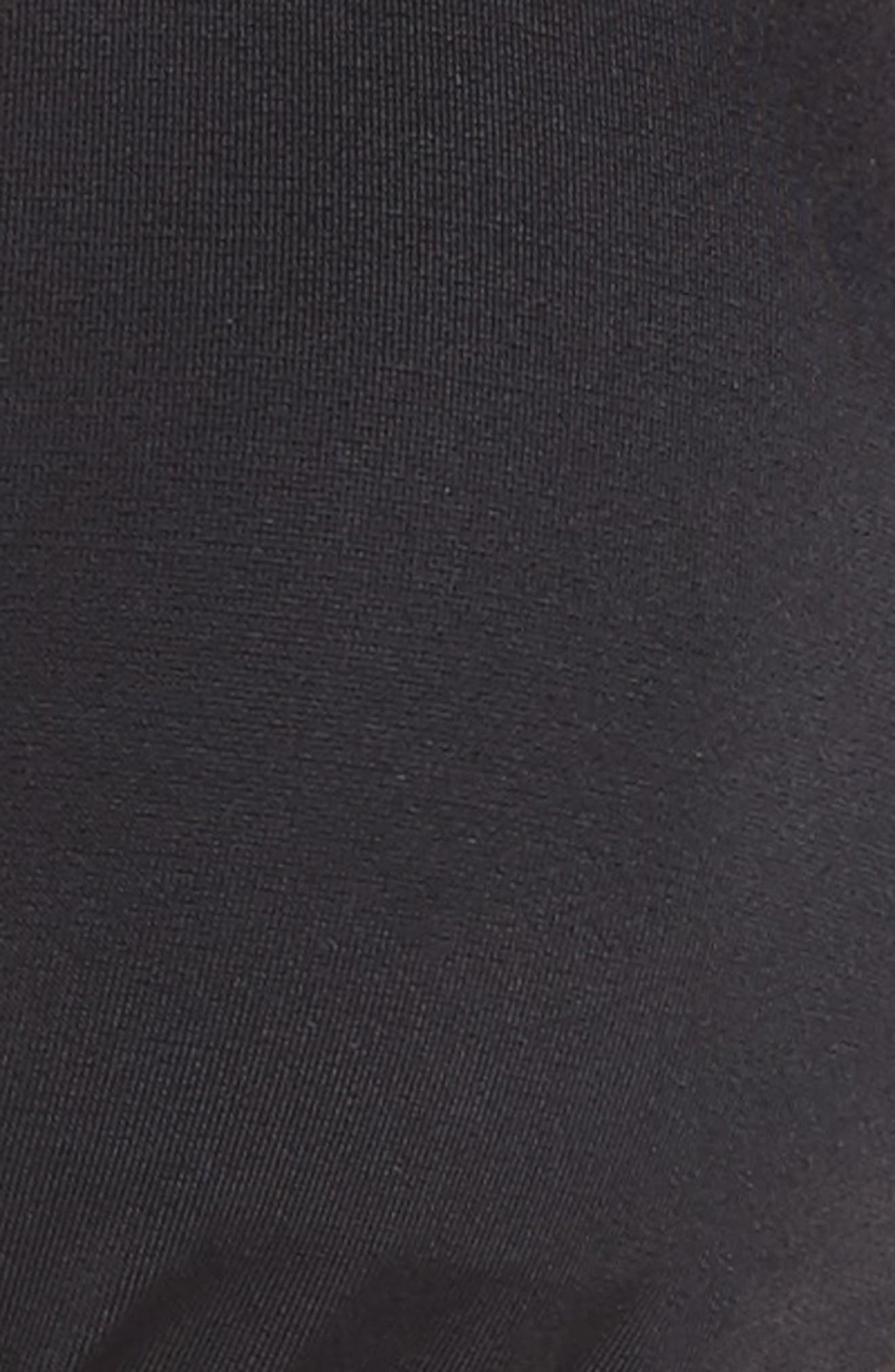 Triangle Bikini Top,                             Alternate thumbnail 5, color,                             Black