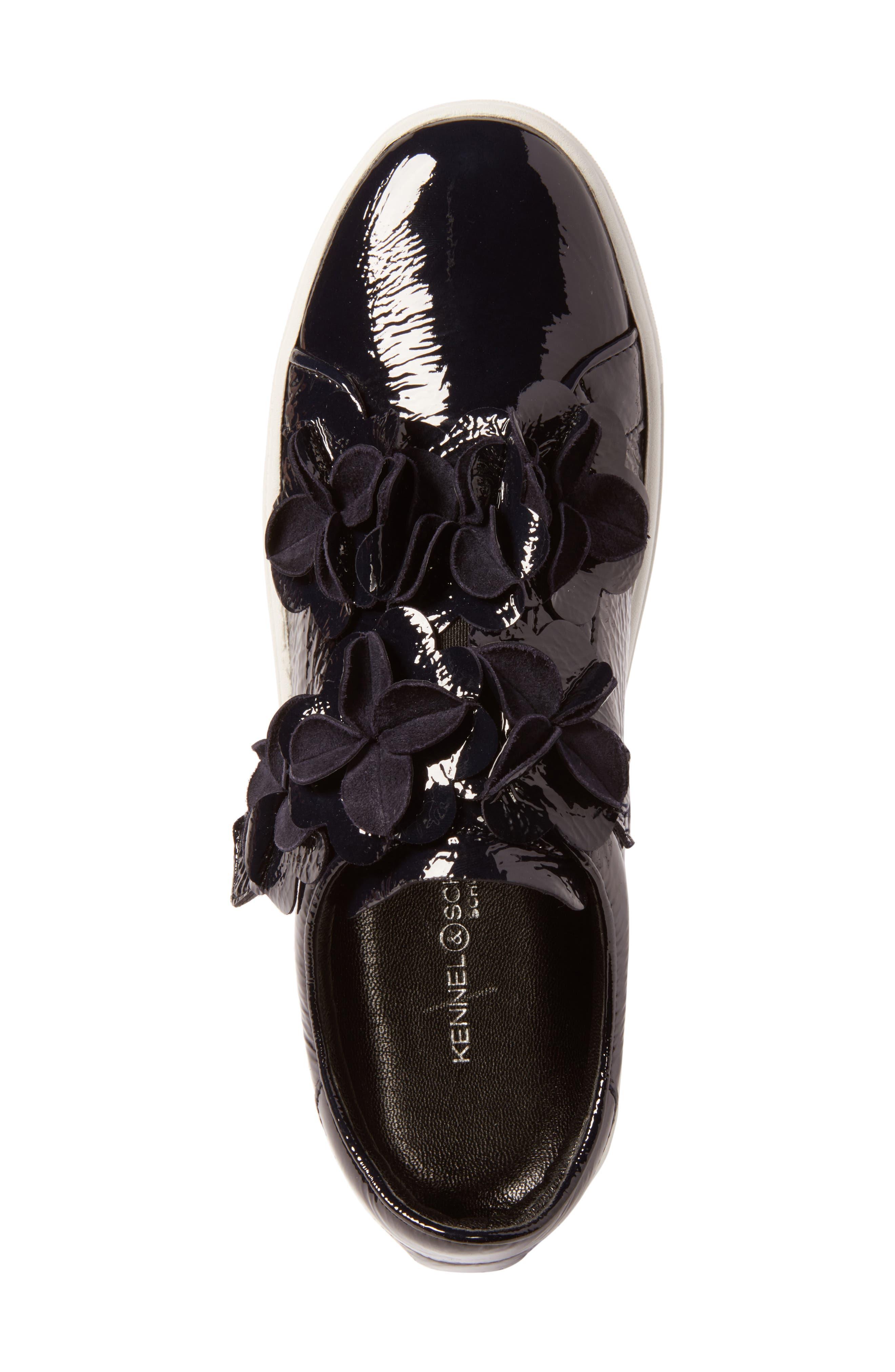 Alternate Image 5  - Kennel & Schmenger Town Floral Embellished Sneaker (Women)