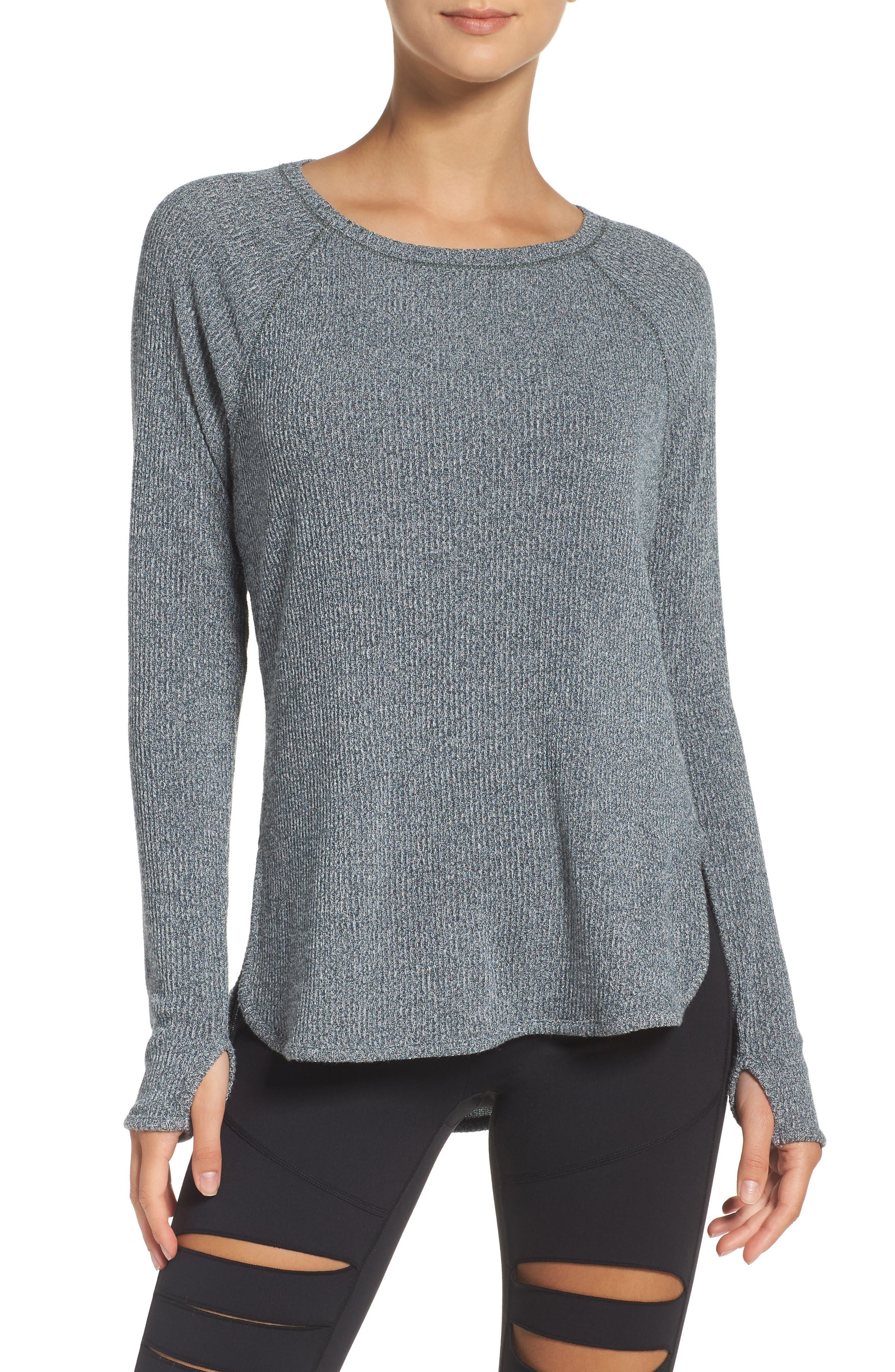 Alternate Image 1 Selected - Zella Don't Sweat It Sweater