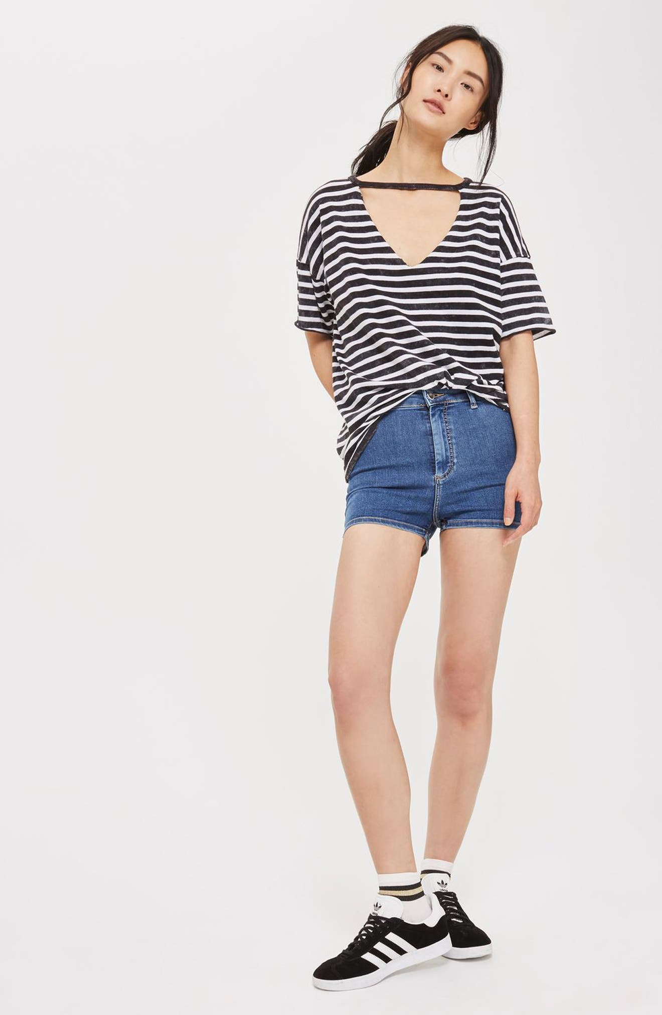 Alternate Image 2  - Topshop Joni Shorts