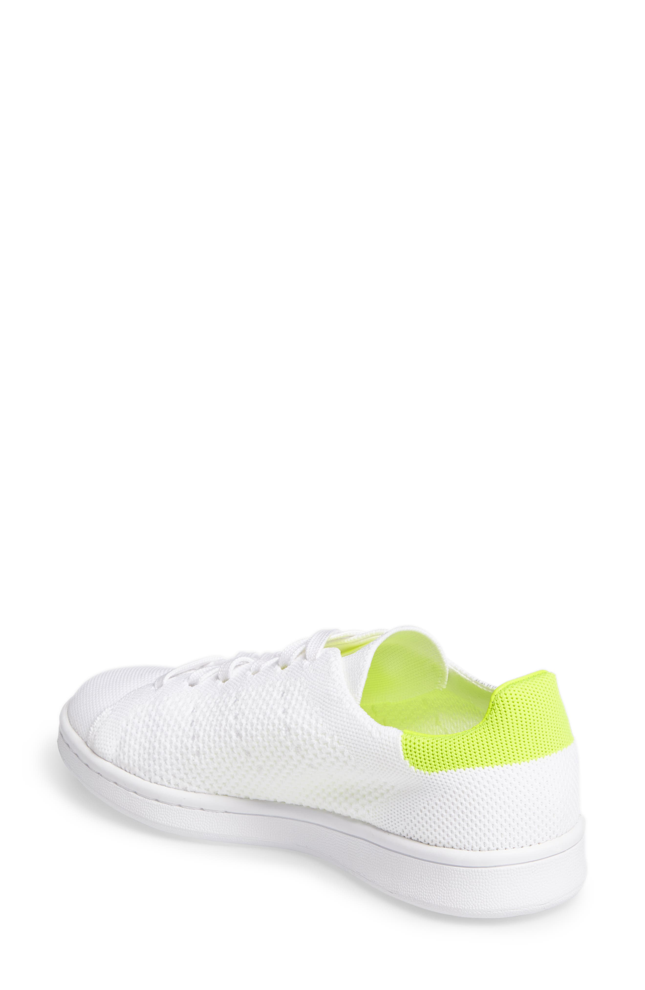 Alternate Image 2  - adidas Stan Smith - Primeknit Sneaker (Women)