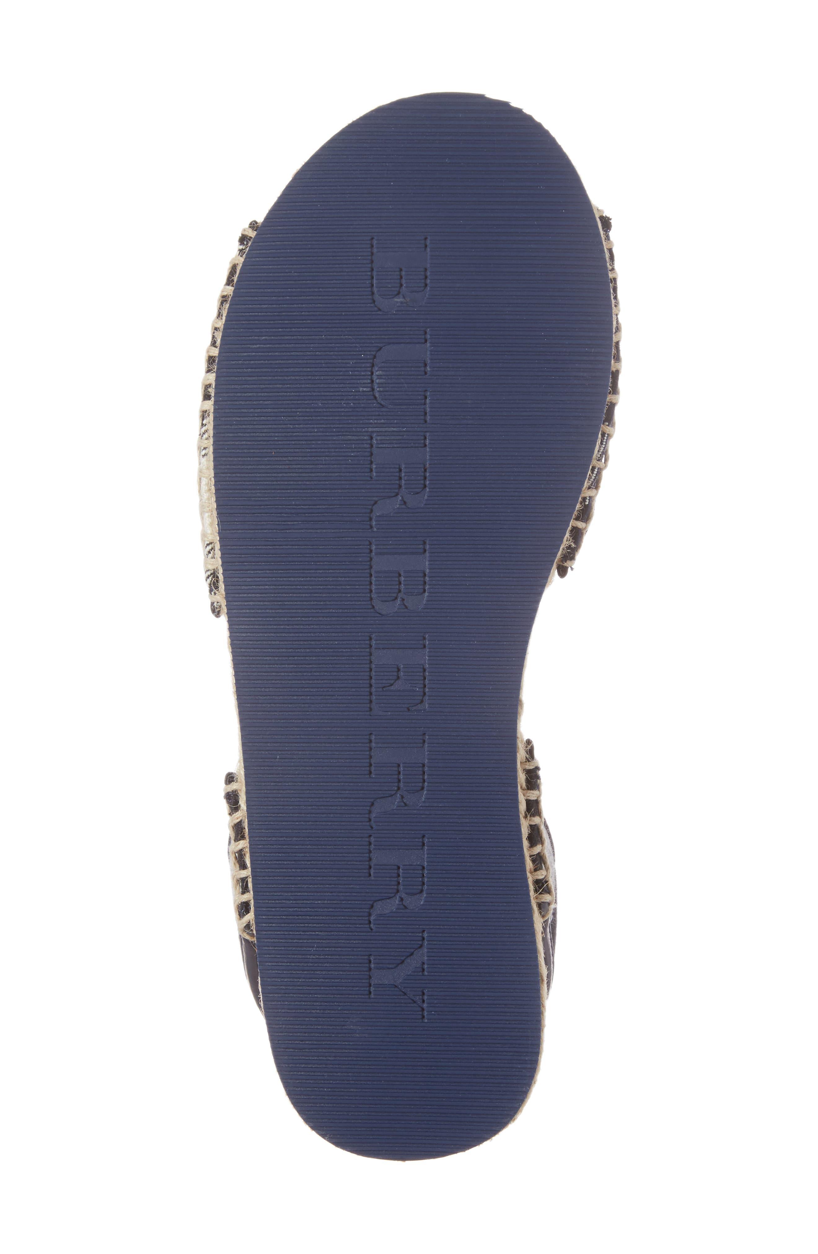 Alternate Image 6  - Burberry Livvy Ankle Strap Sandal (Walker, Toddler & Little Kid)