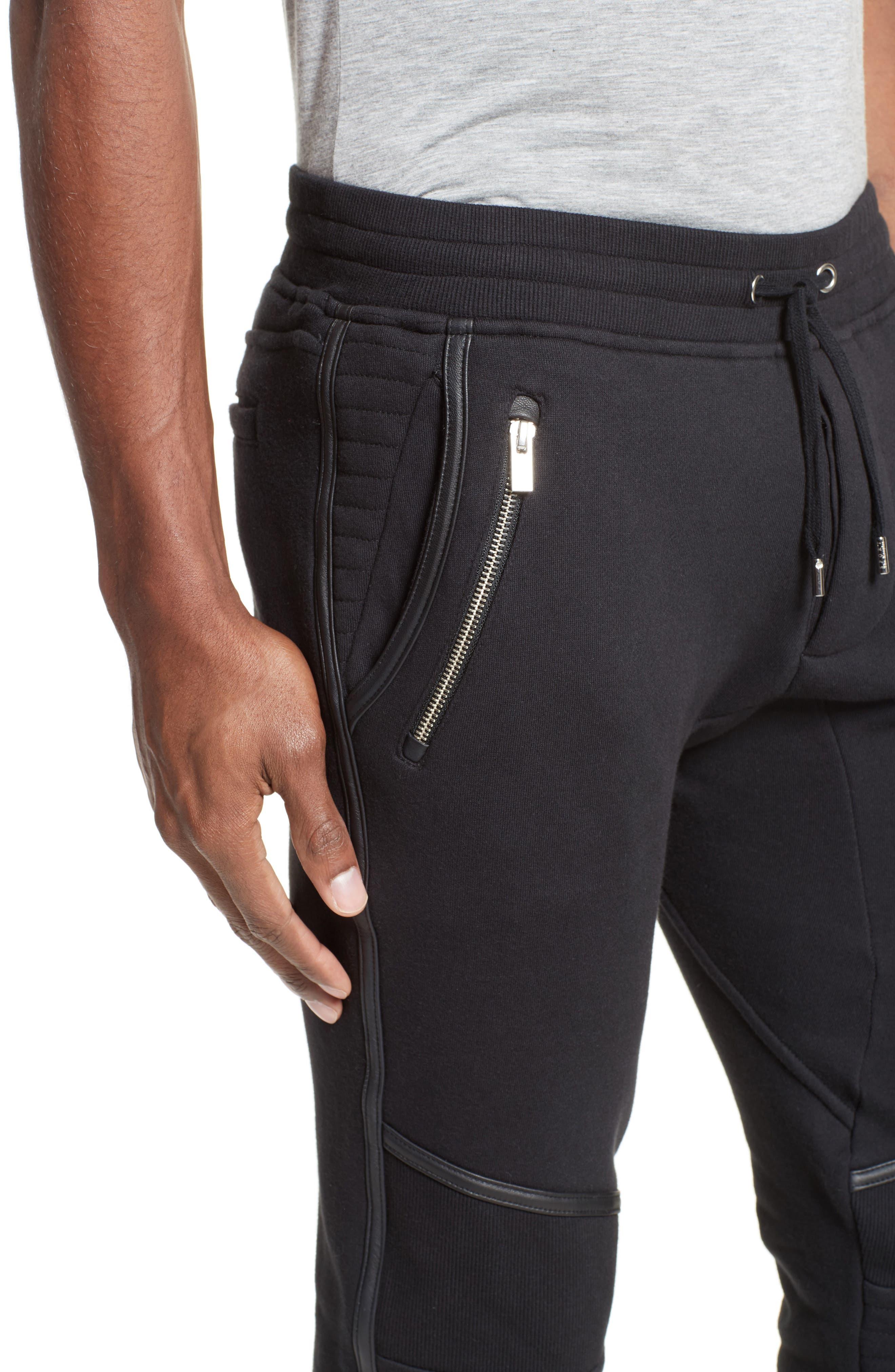 Alternate Image 4  - The Kooples Moto Jogger Pants