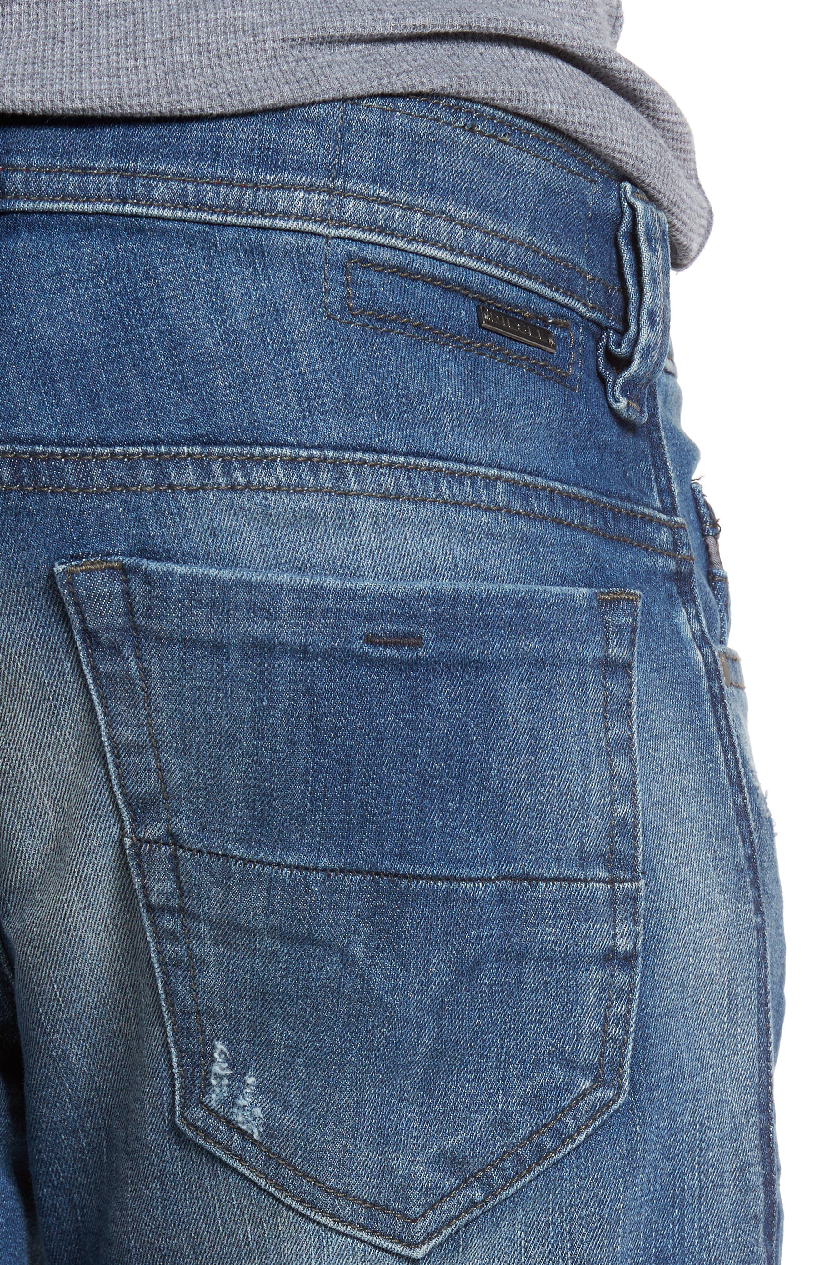Alternate Image 4  - DIESEL® Thommer Slim Fit Jeans (C84IE)