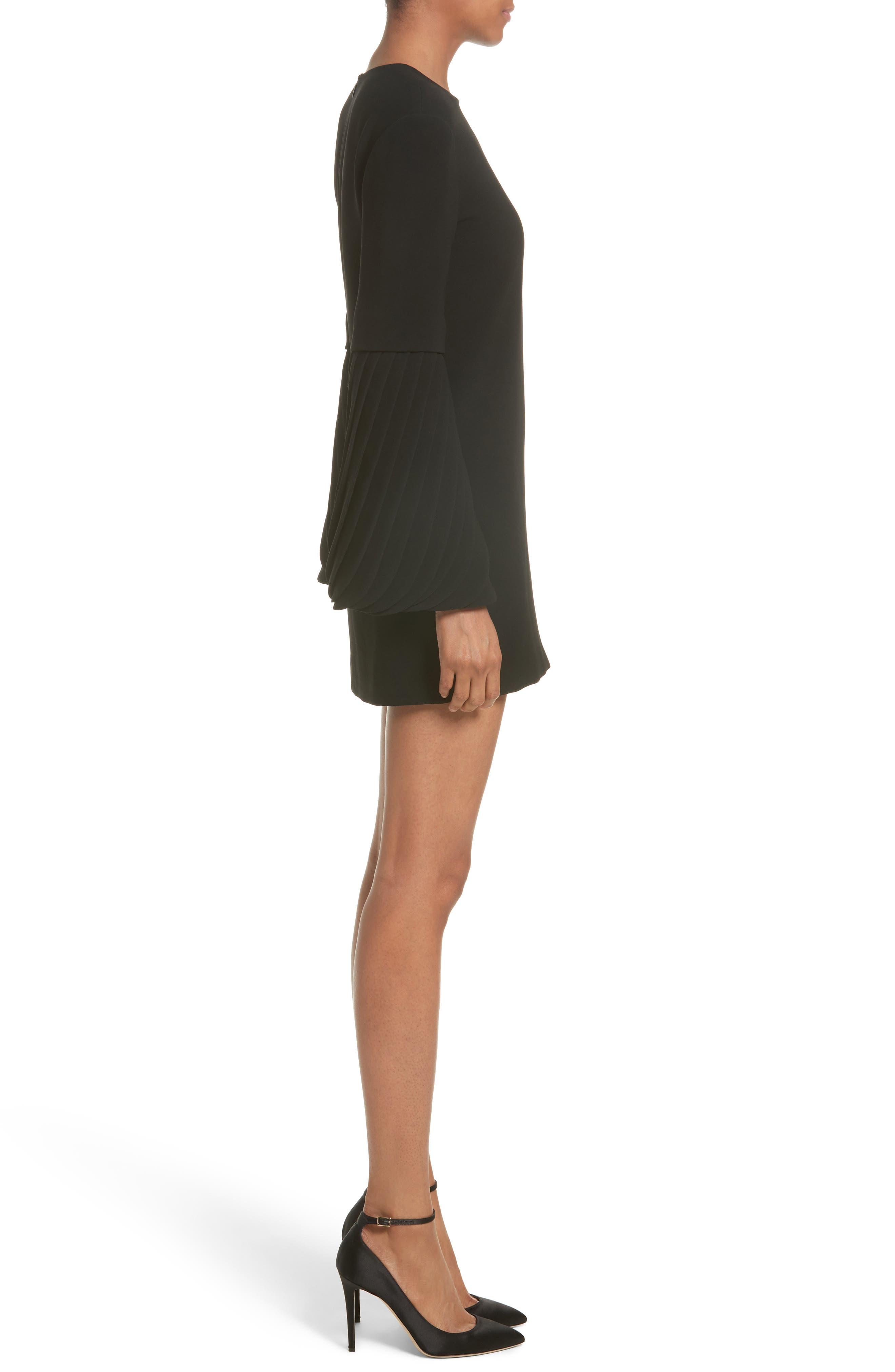 Alternate Image 5  - Brandon Maxwell Petal Sleeve Crepe Dress