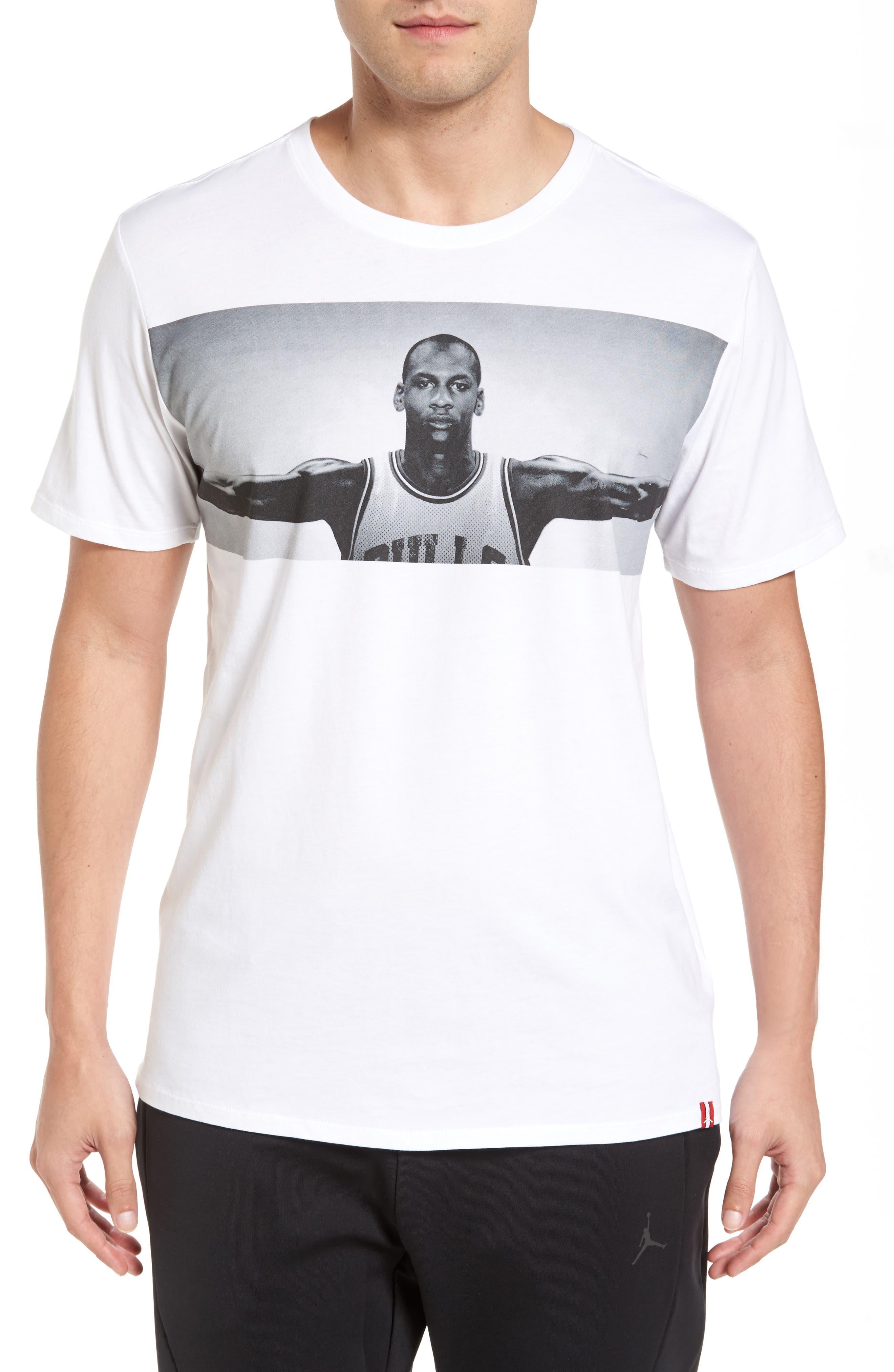 Alternate Image 1 Selected - Nike Jordan Wings Graphic T-Shirt