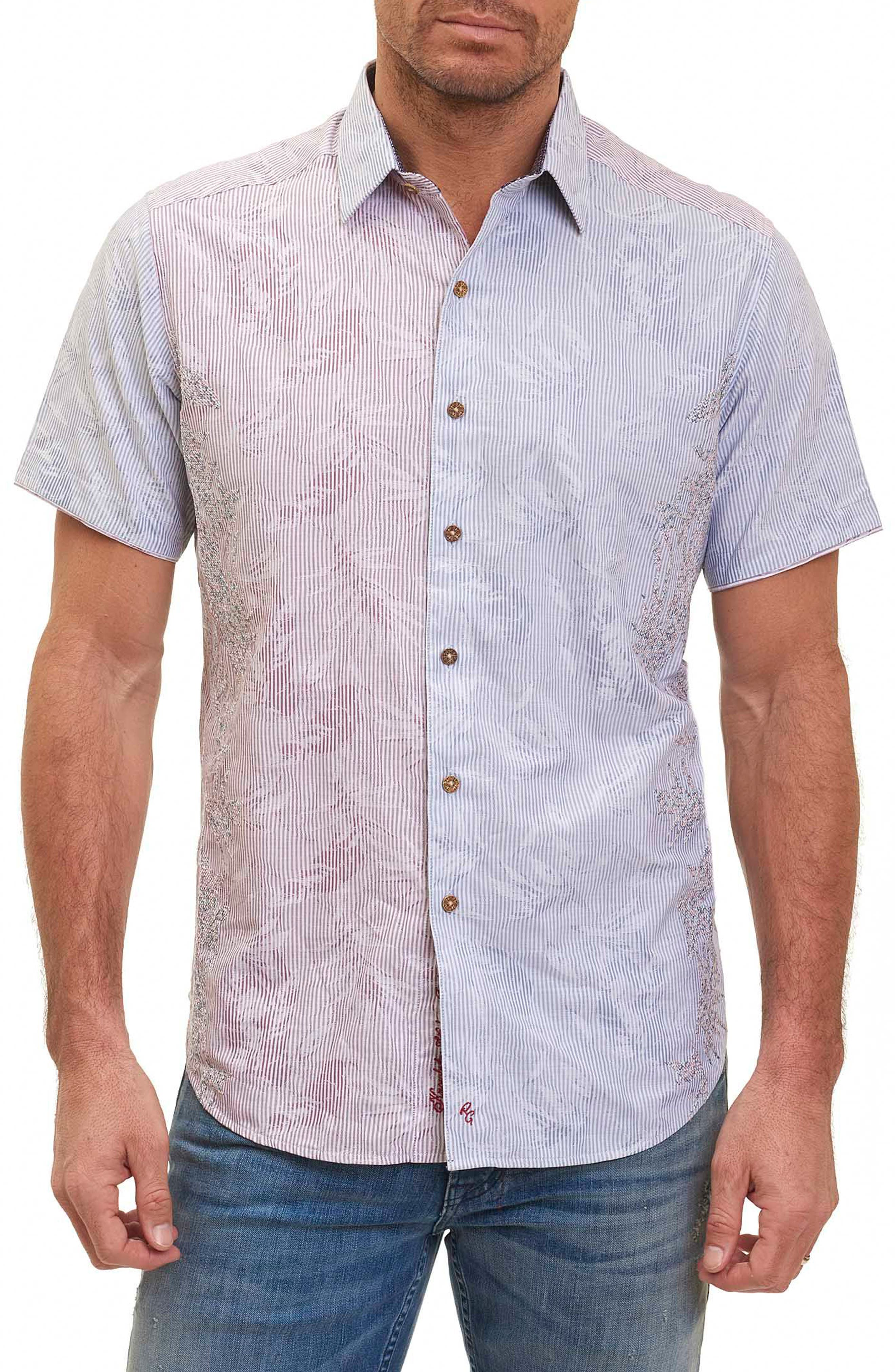 Alternate Image 1 Selected - Robert Graham Bundy Boulevard Classic Fit Print Sport Shirt (Limited Edition)