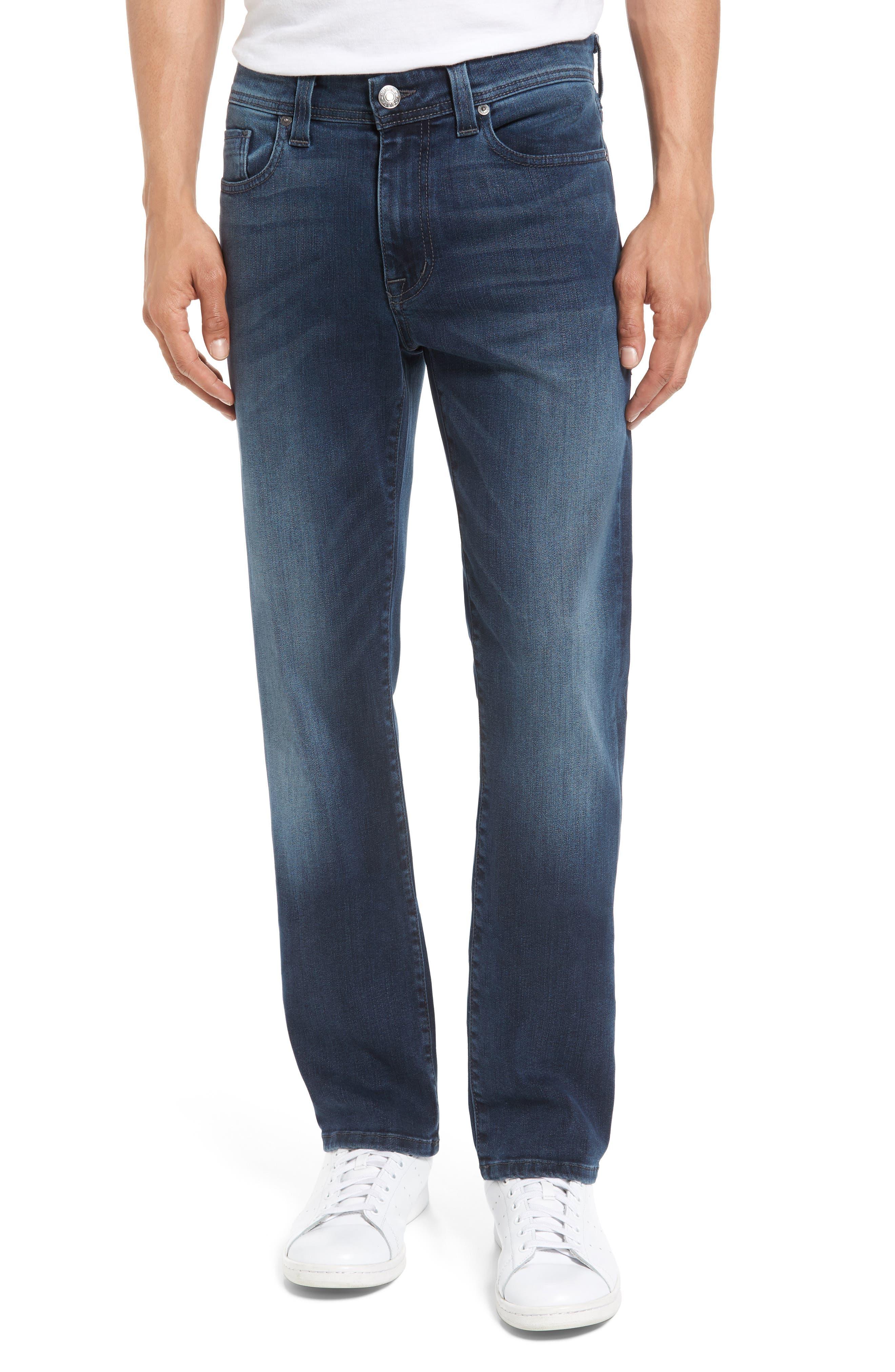 Fidelity Jimmy Slim Straight Leg Jeans,                         Main,                         color, Twilight Lumina