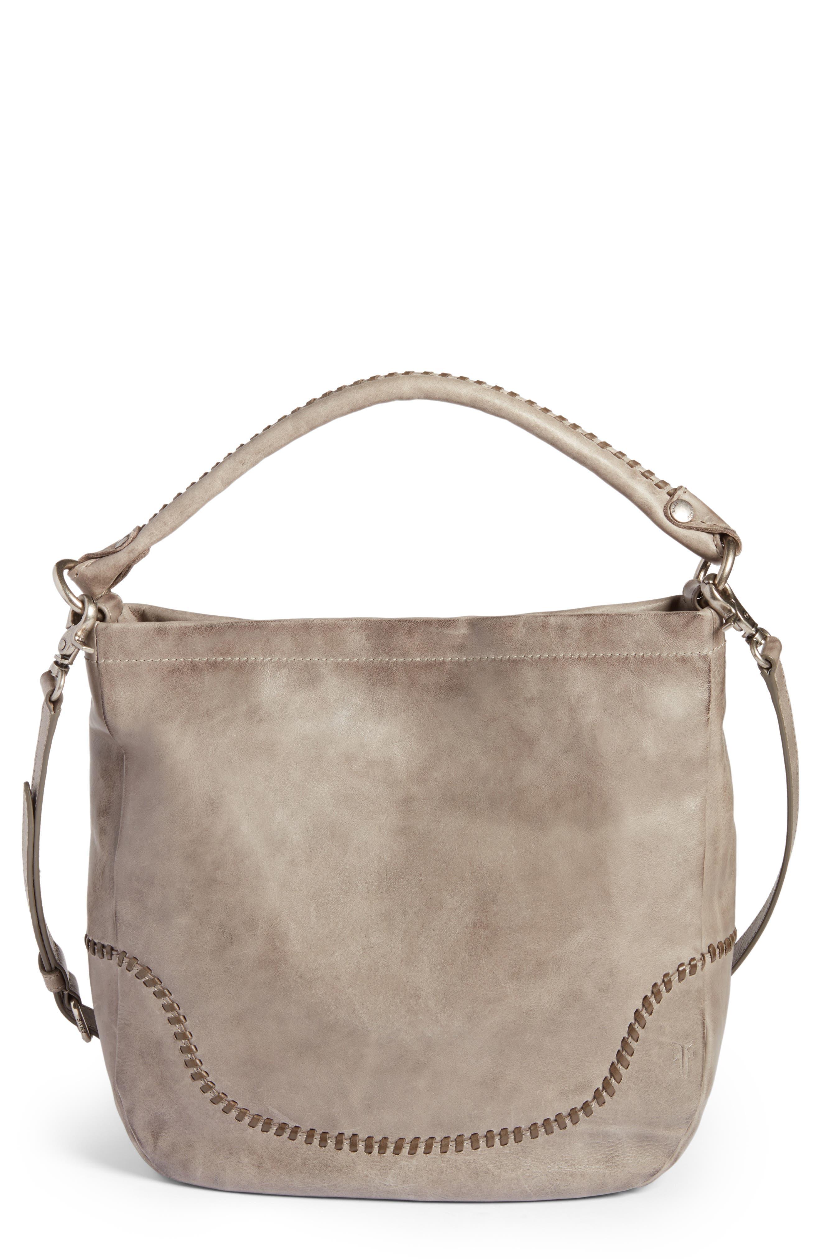 Frye Melissa Whipstitch Leather Hobo