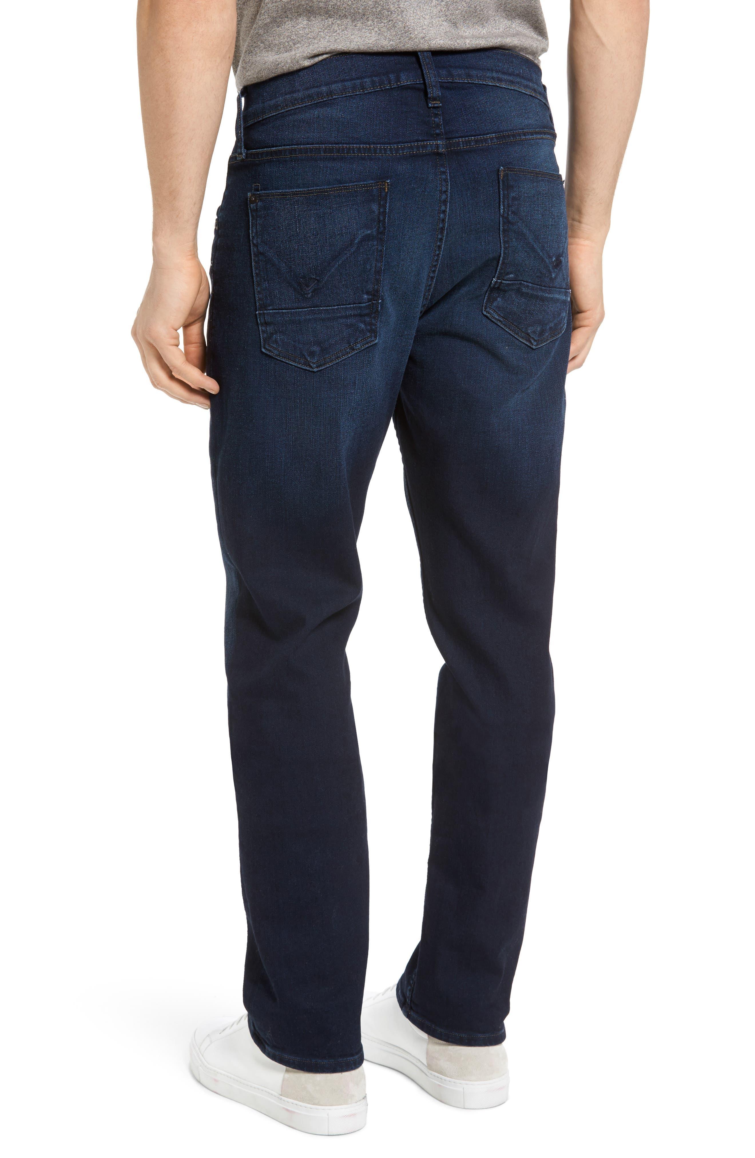 Alternate Image 2  - Hudson Jeans Byron Slim Straight Leg Jeans (Streetwise)